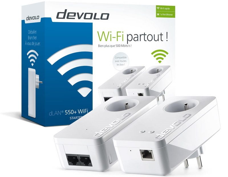 test devolo dlan 550 wifi starter kit cpl sur war legend. Black Bedroom Furniture Sets. Home Design Ideas