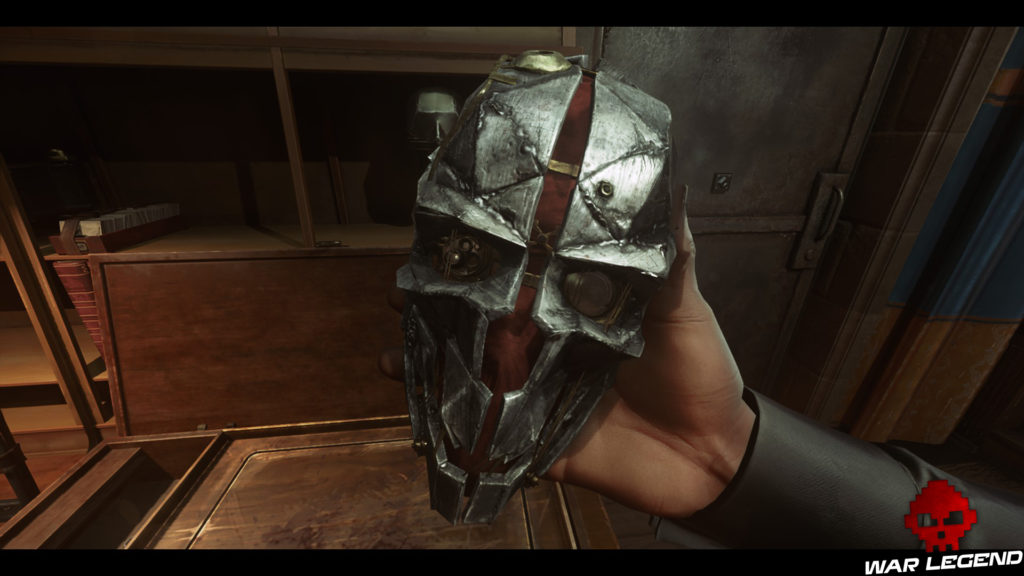 Test Dishonored 2 masque de Corvo