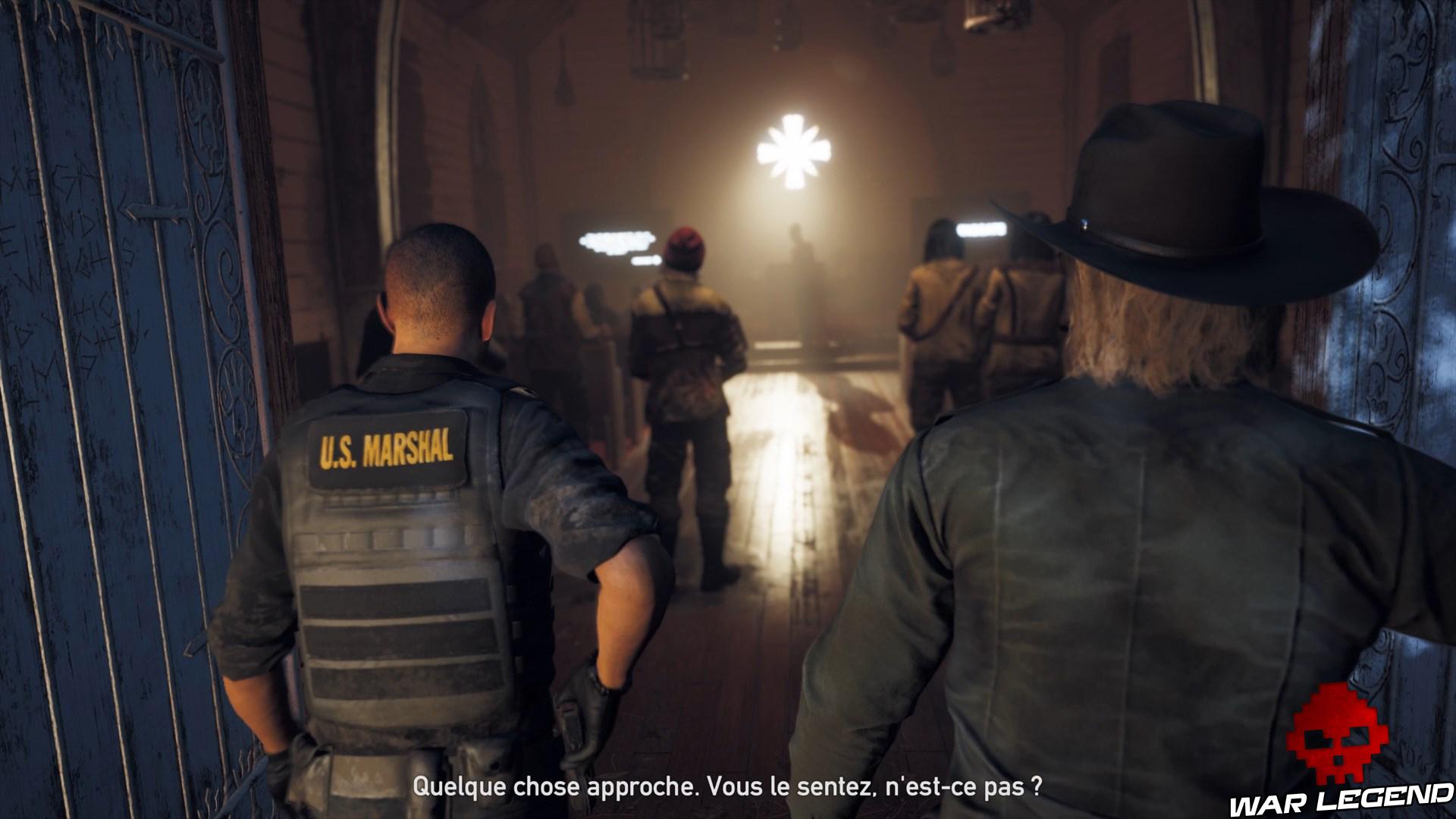 Test Far Cry 5 entrée dans l'église