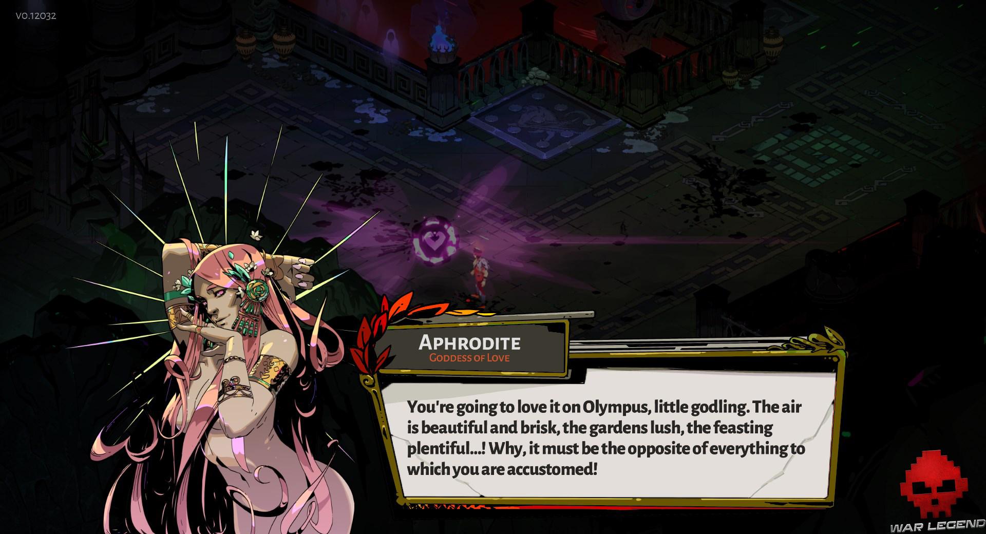Test Hades dialogue aphrodite