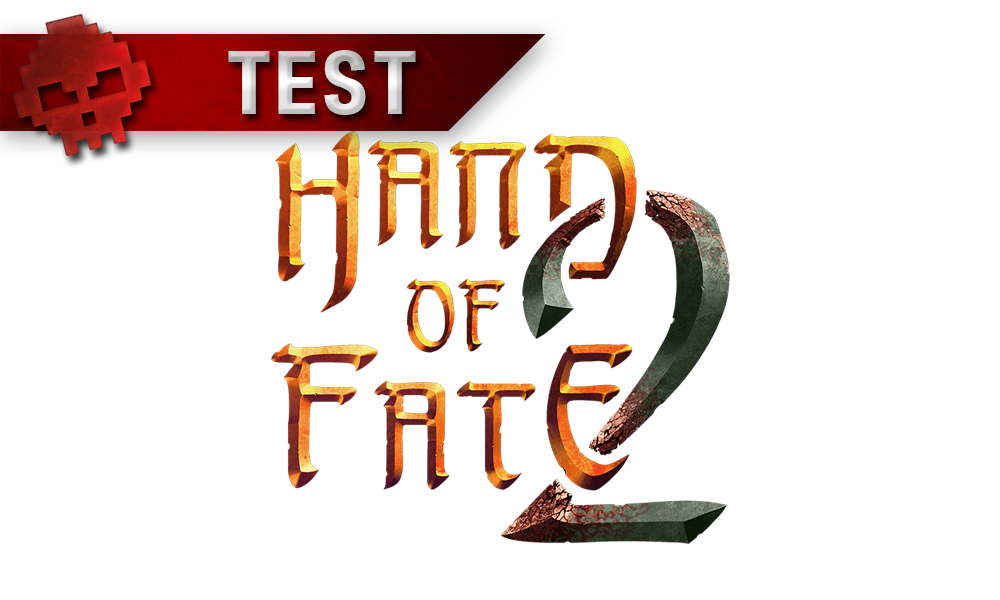 logo hand of fate 2 bannière test