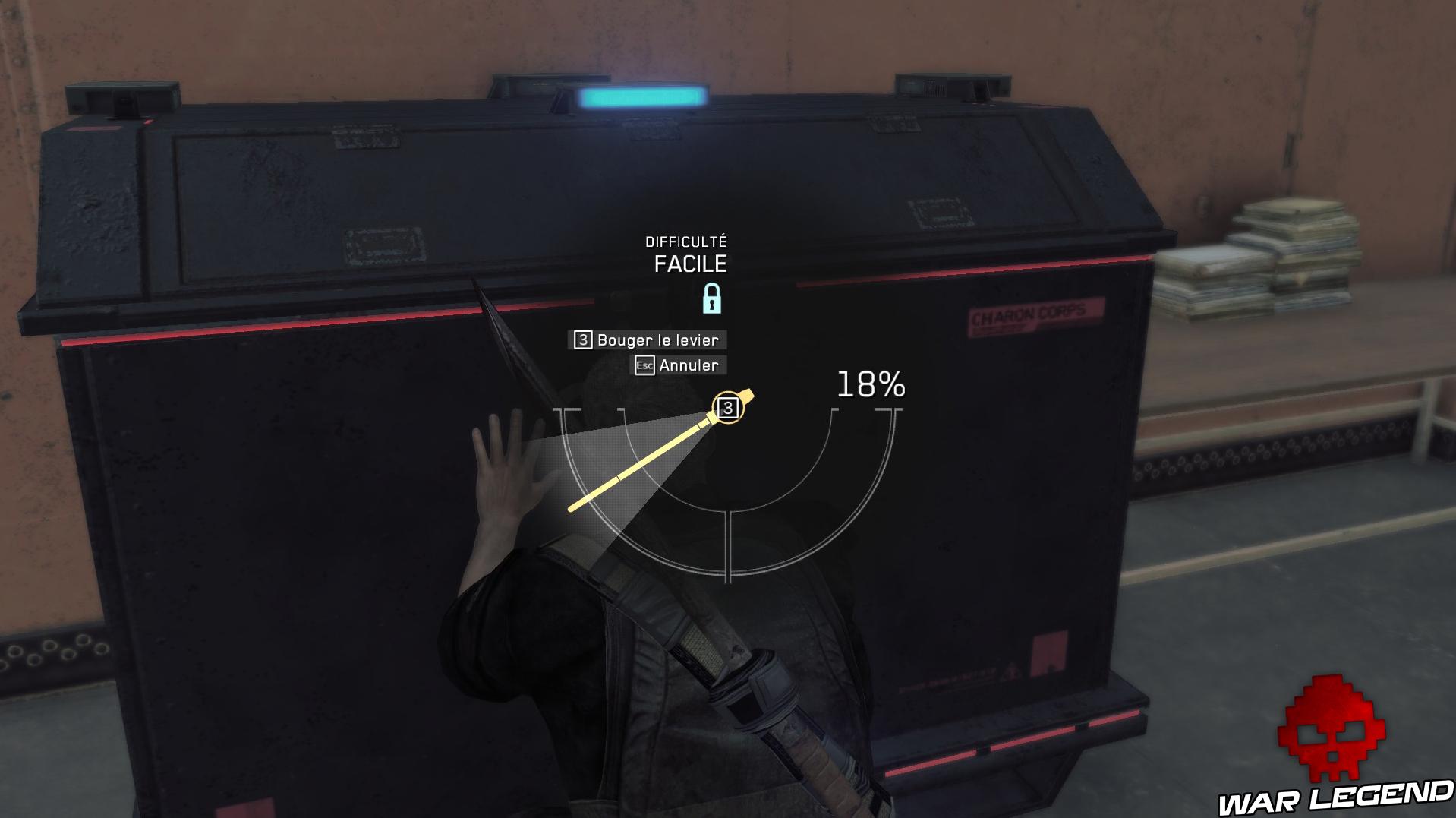 Test Metal Gear Survive coffre loot