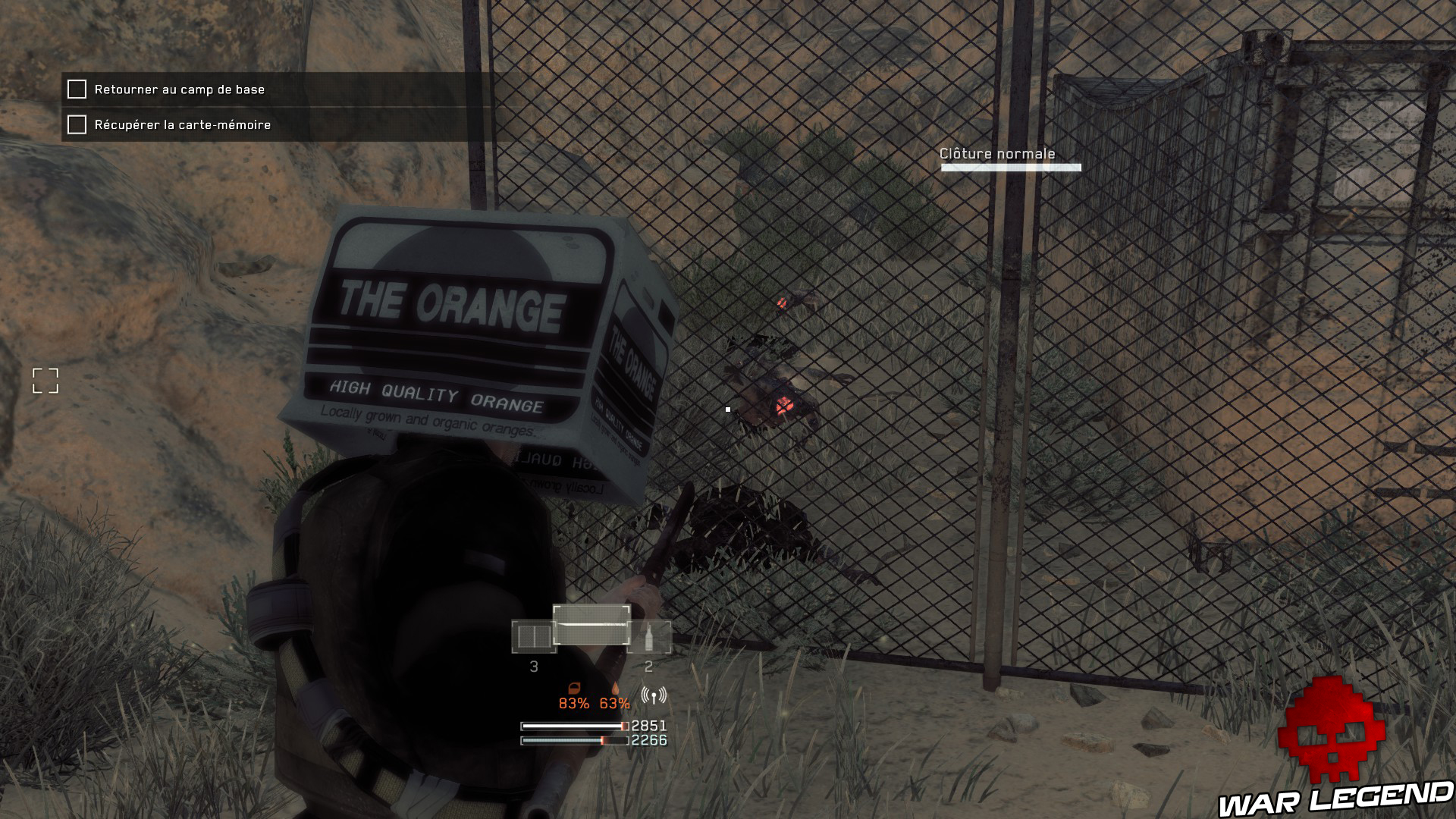 Test Metal Gear Survive clôture