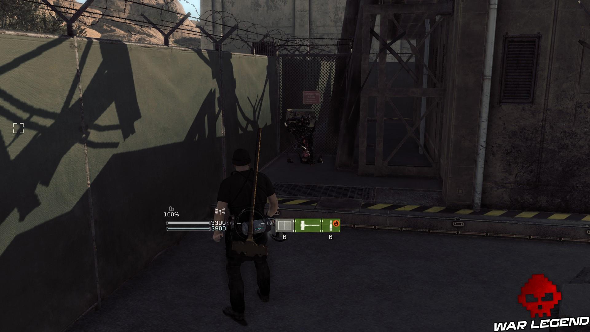 Test Metal Gear Survive caisse cosmétique