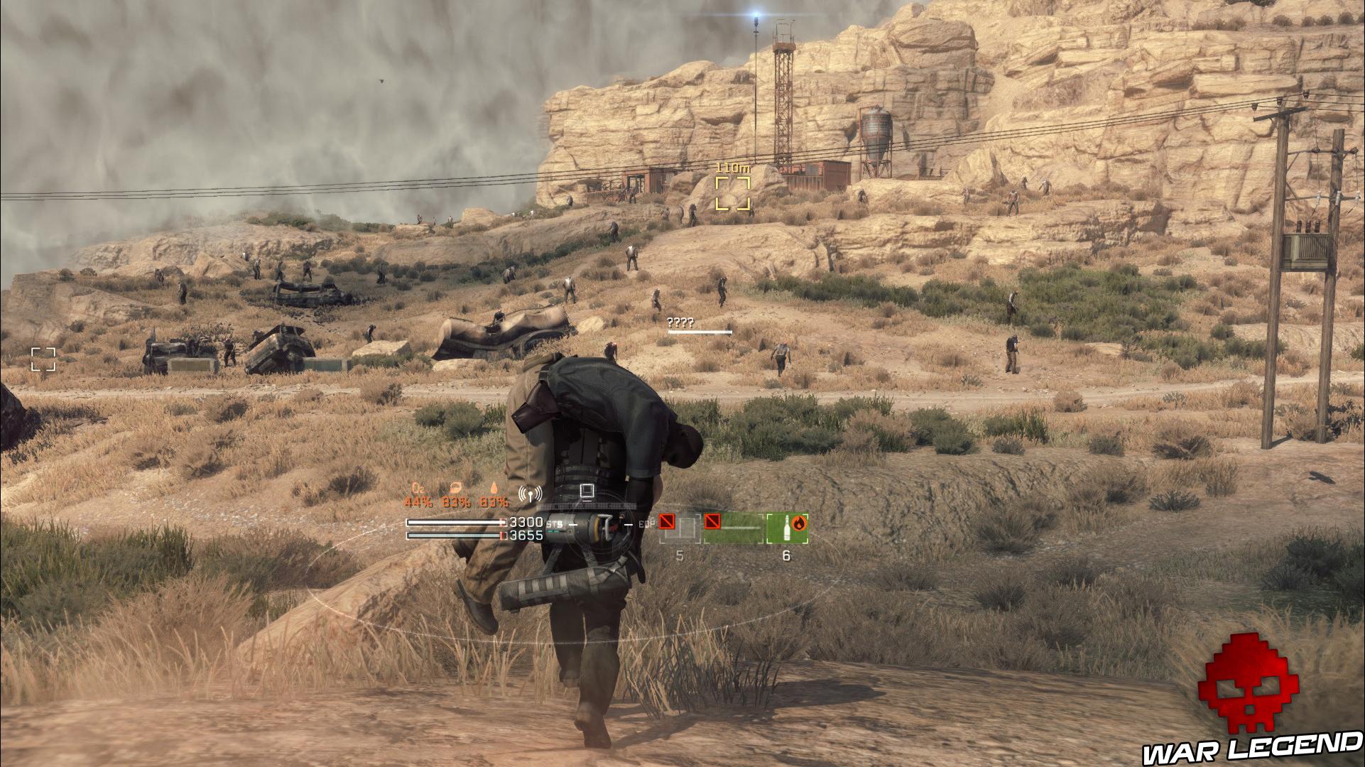 Test Metal Gear Survive survivant
