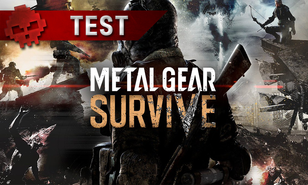 Test Metal Gear Survive vignette