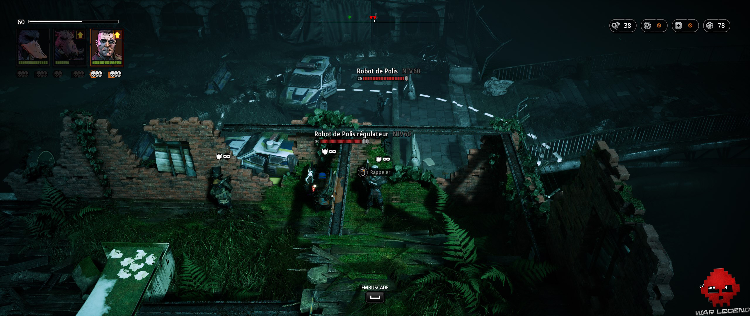 Test Mutant Year Zero Road to Eden - Embuscade sur robots en ville