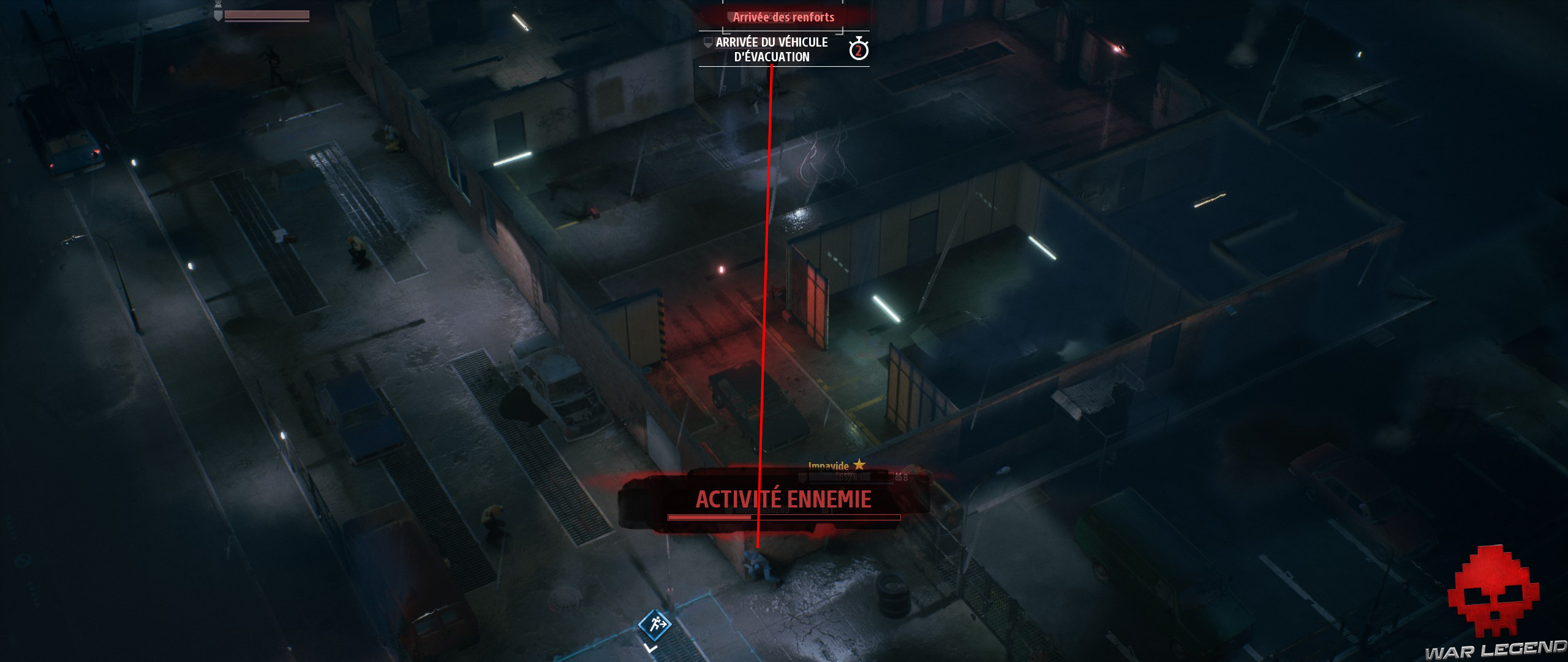 Test Phantom Doctrine ligne de tir
