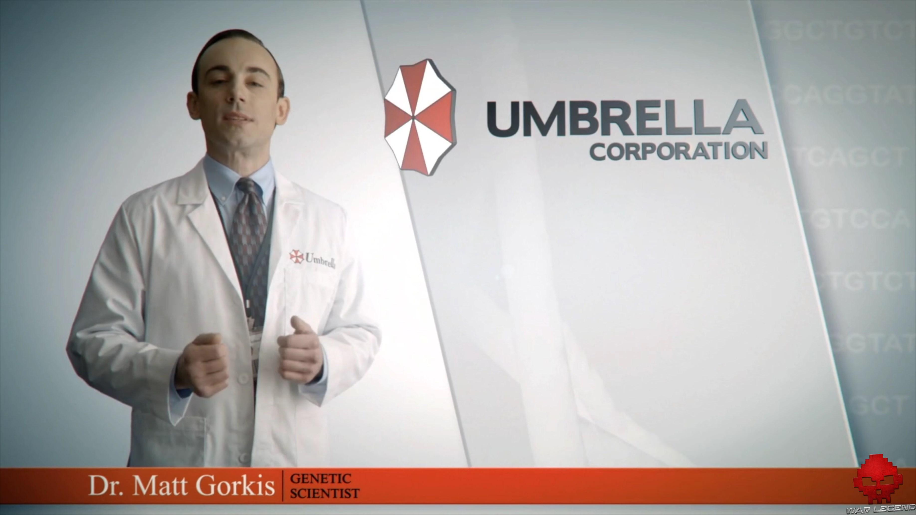Test Resident Evil 3 - Dr. Matt Gorkis, chercheur en génétique chez Umbrella Corporation