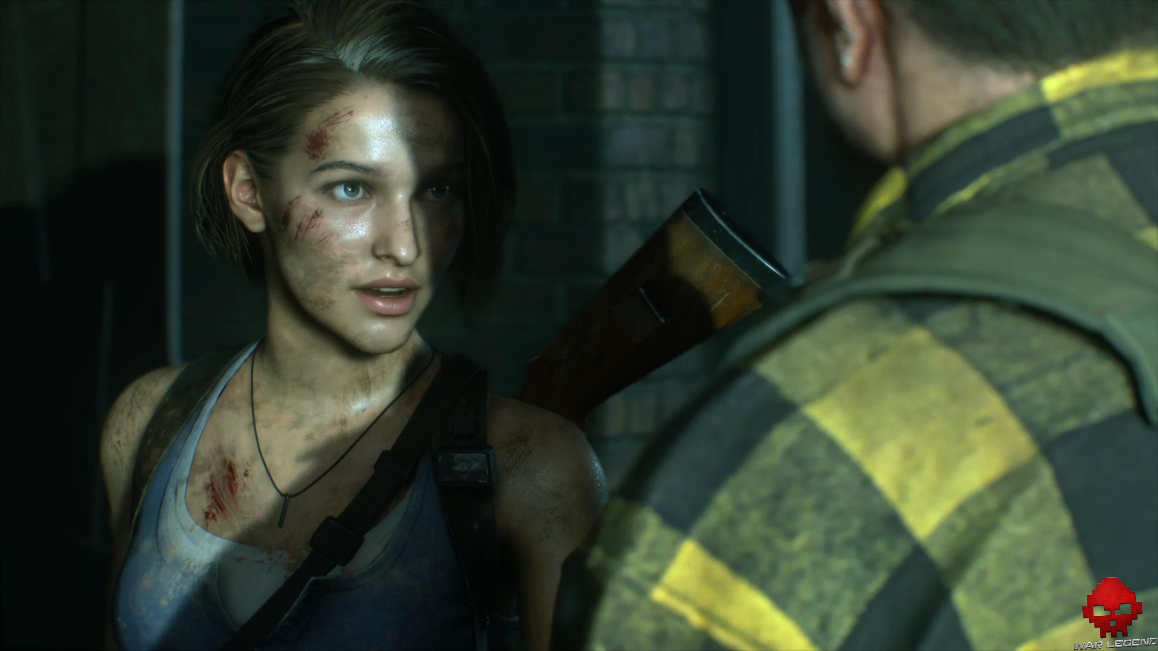 Test Resident Evil 3 - Jill Valentine
