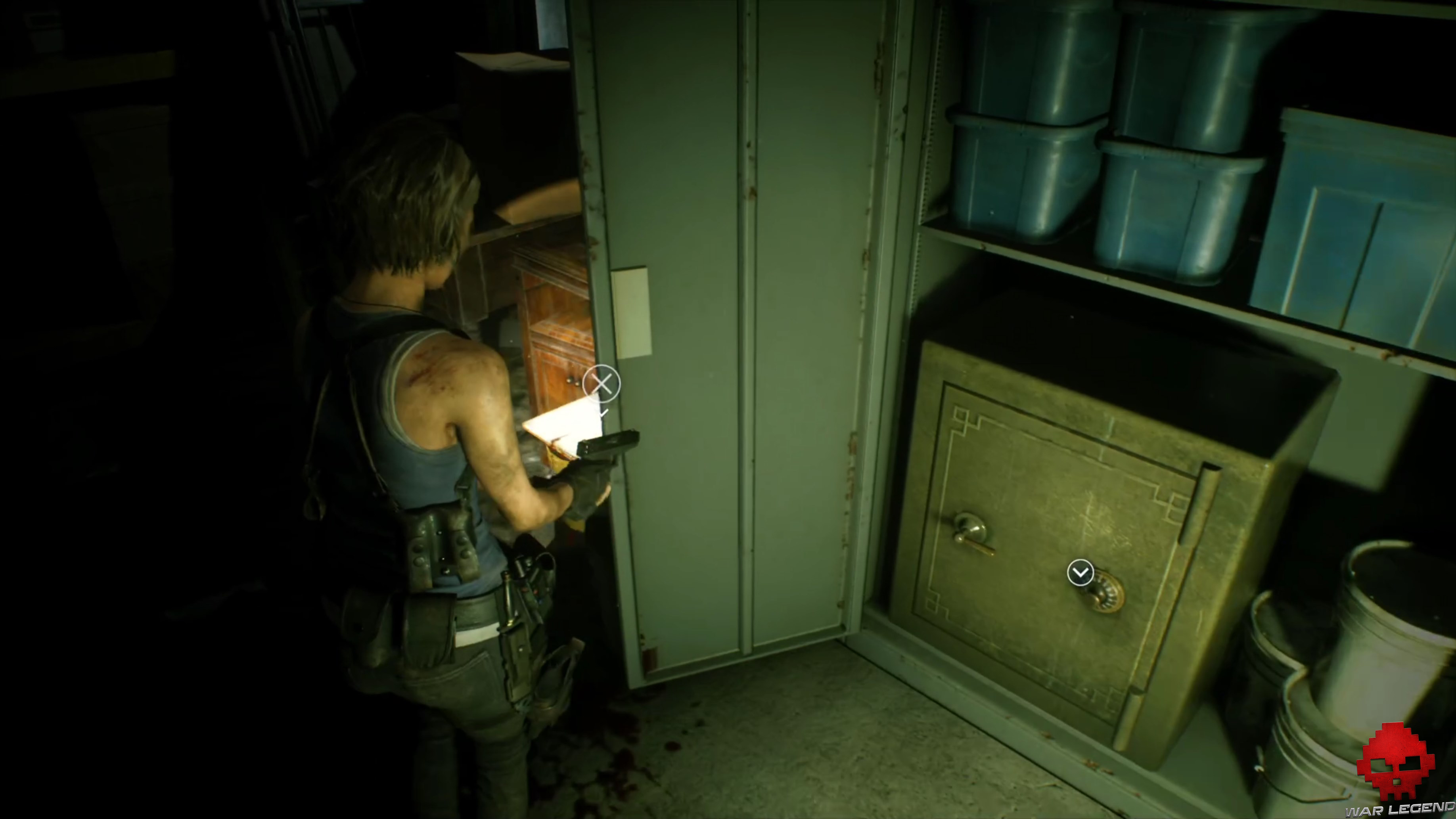 Test Resident Evil 3 - coffre-fort