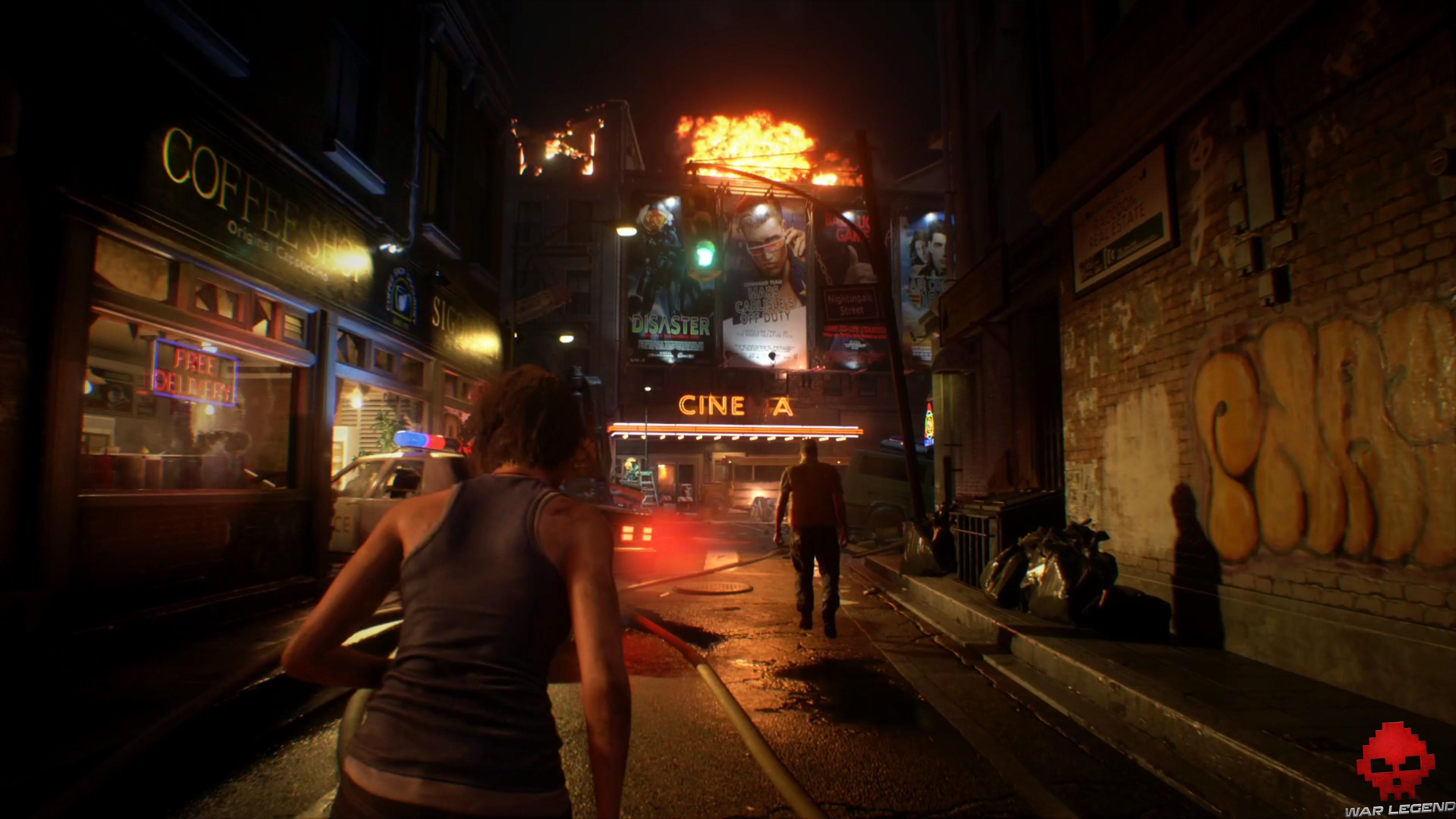 Test Resident Evil 3 - Cinéma de Raccoon City