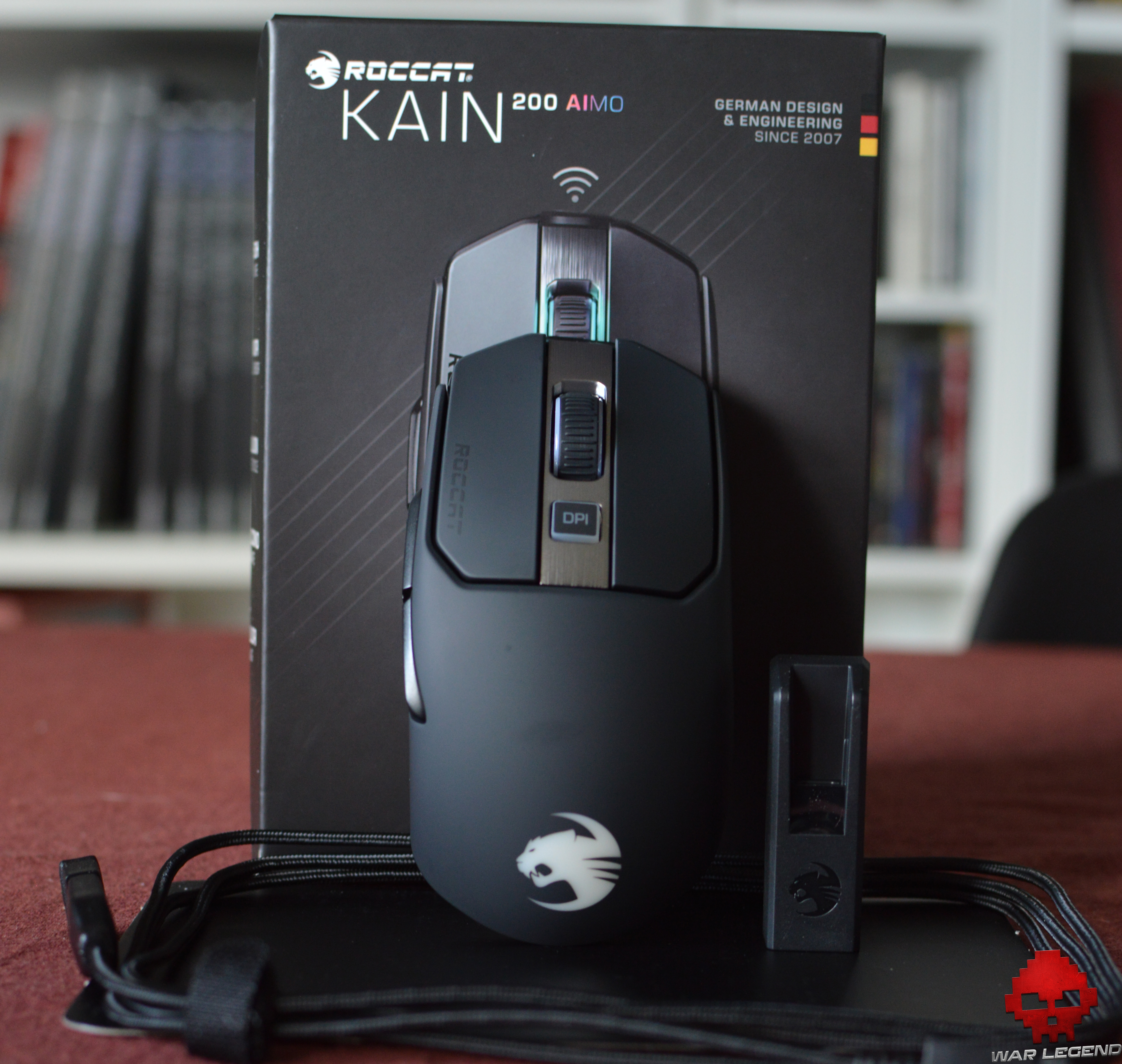Test Roccat Kain AIMO 200 ensemble