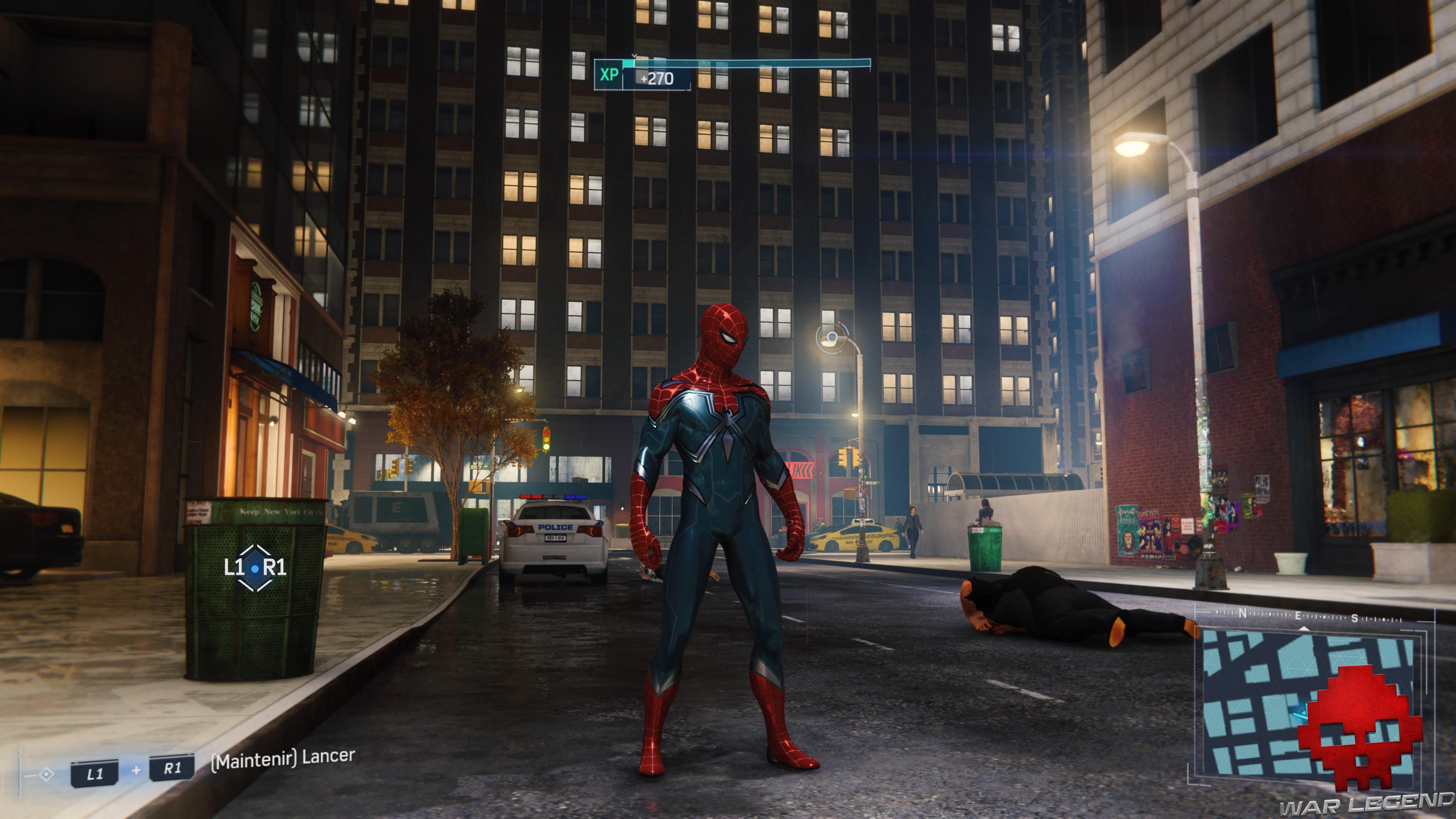 Test Spider-Man: Le Casse nouveau costume