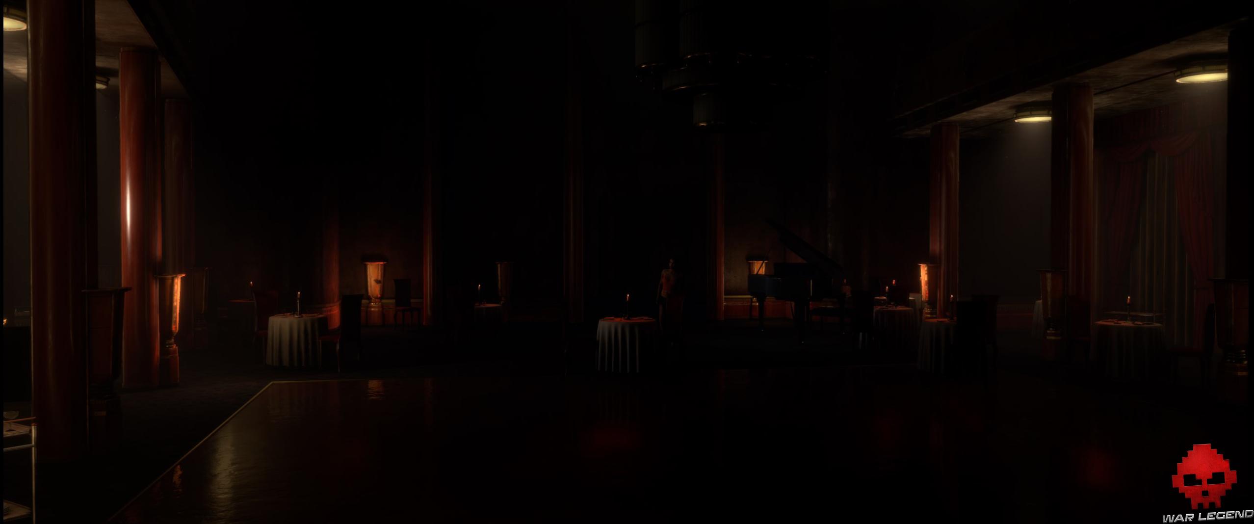 Test The Dark Pictures Anthology Man of Medan - salle de réception