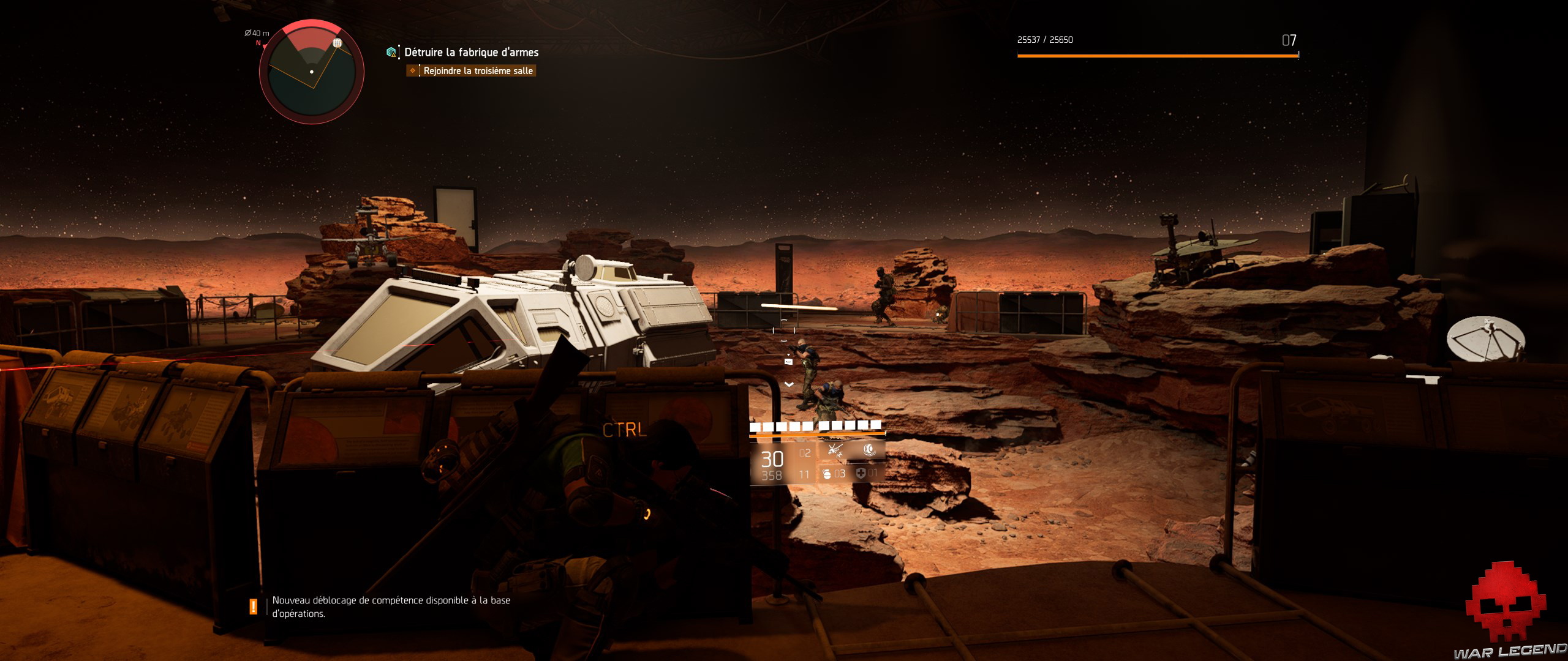 Test The Division 2 mars