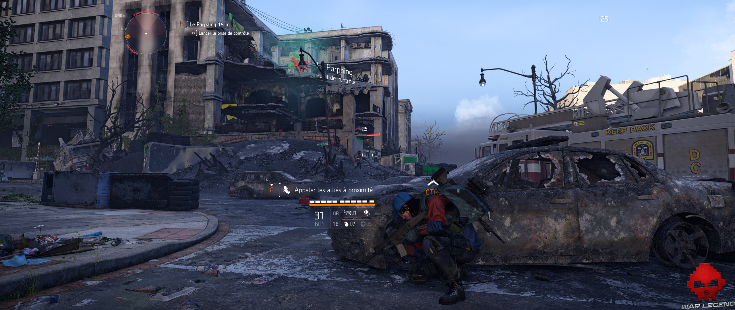Test The Division 2 camp