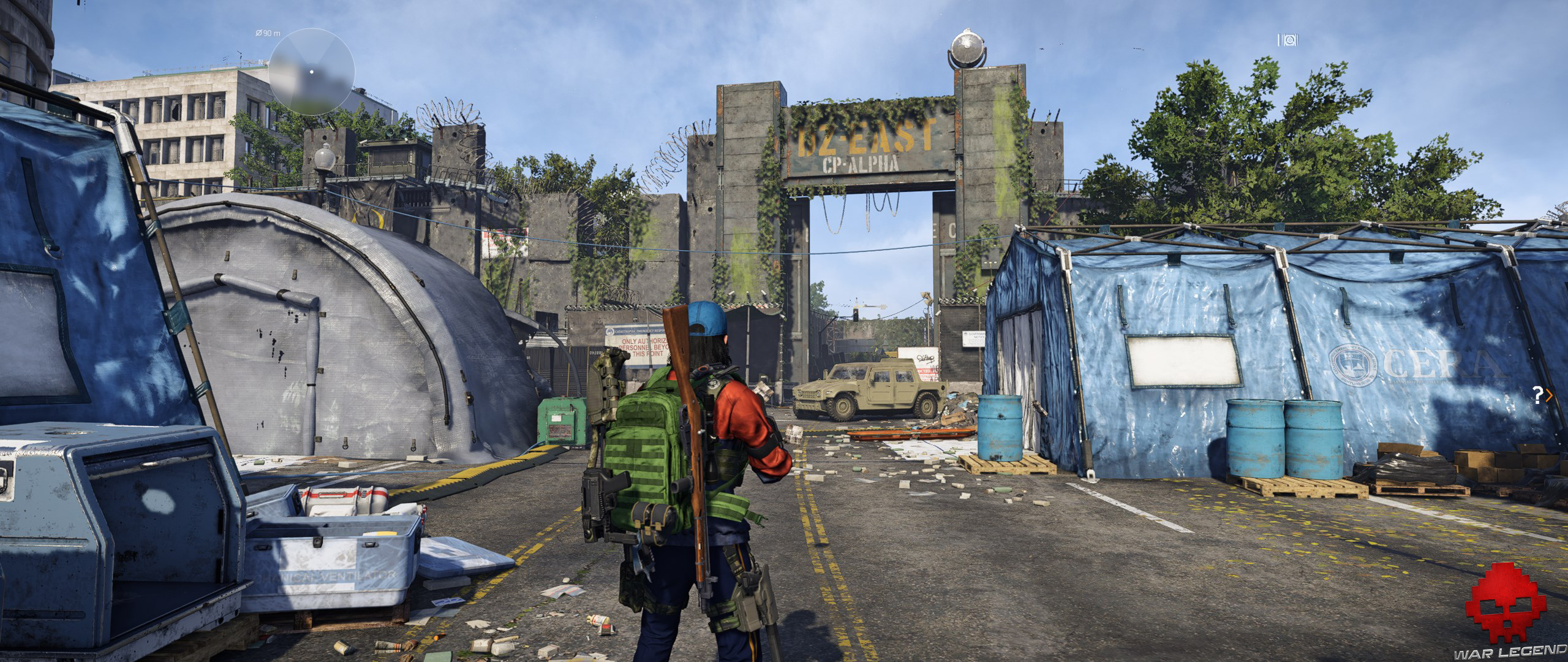 Test The Division 2 DZ East