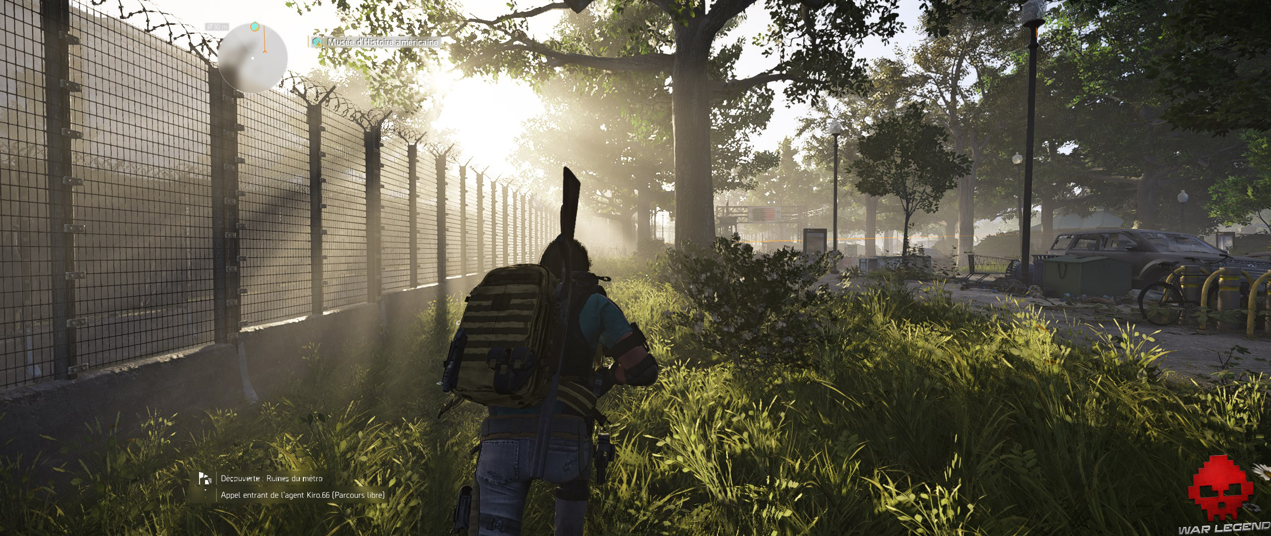Test The Division 2 god rays