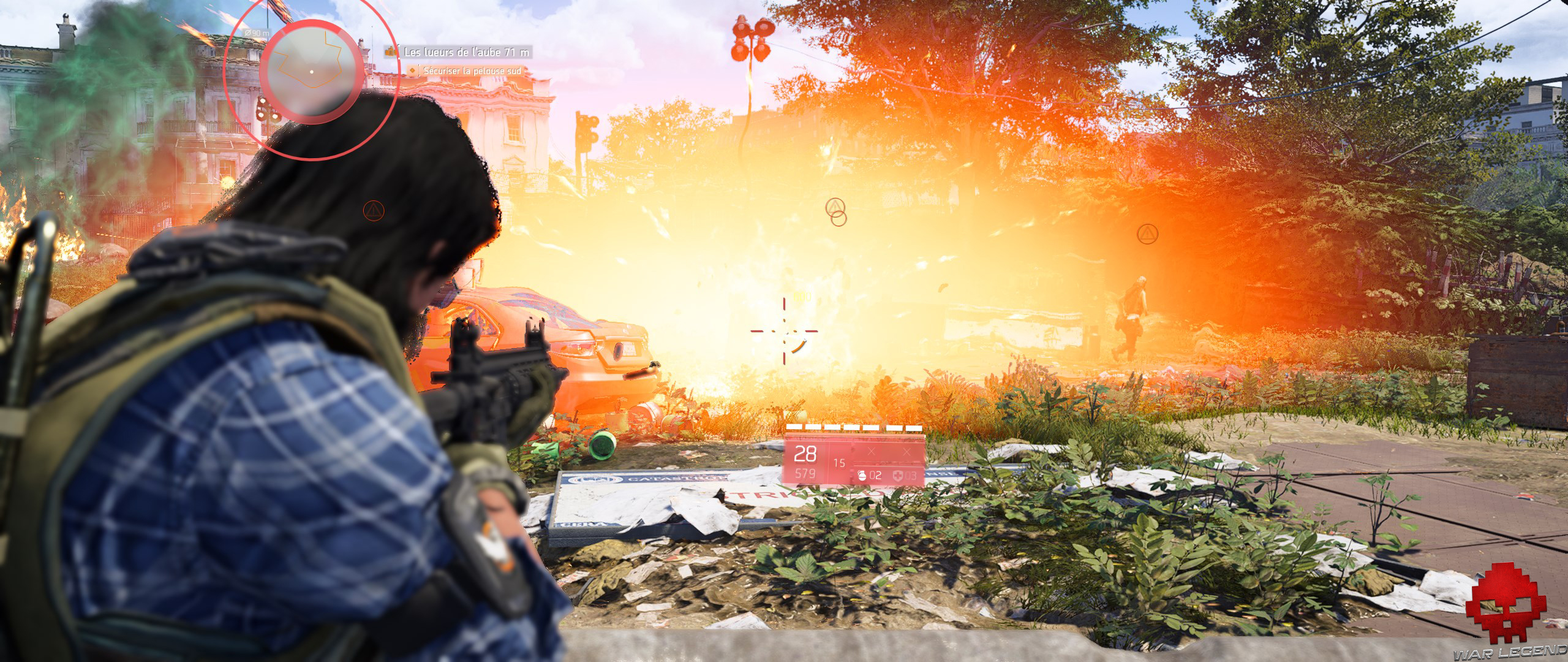 Test The Division 2 explosion