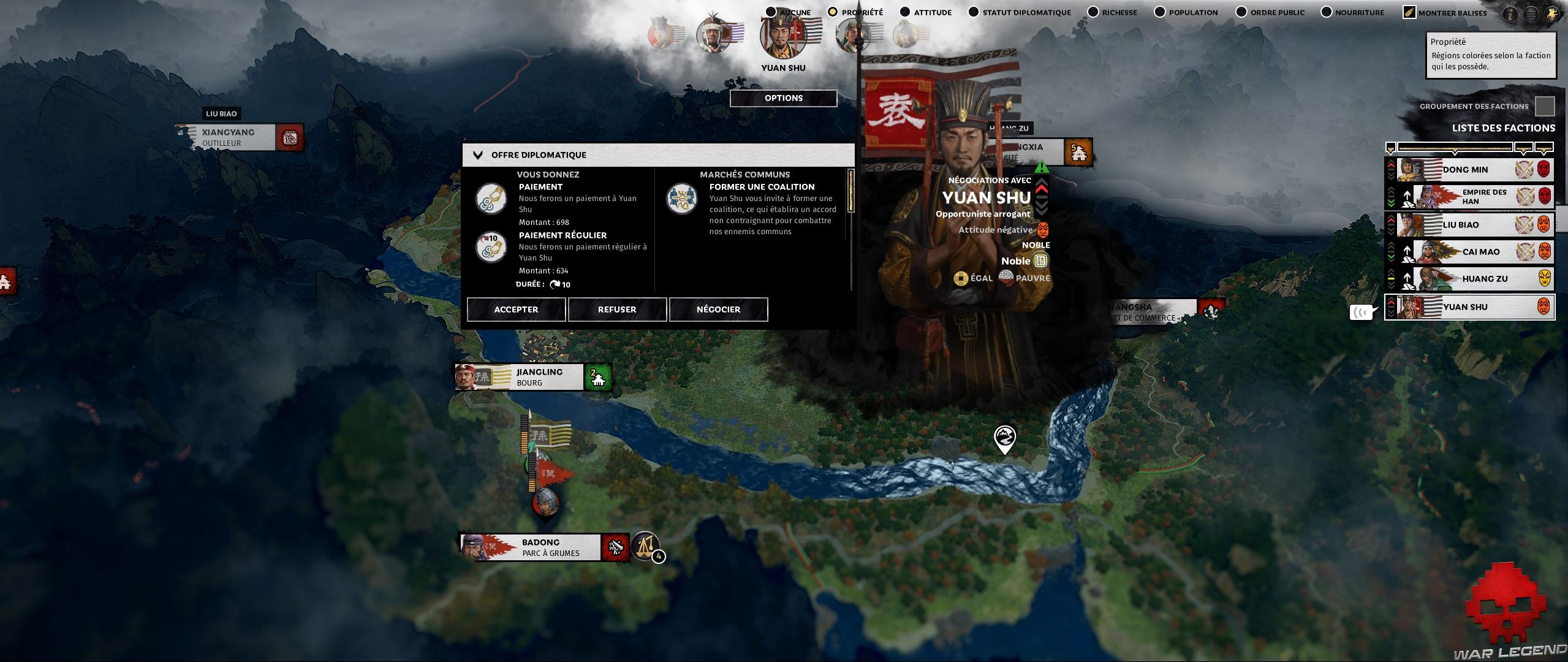 Test Total War Three Kingdoms 2