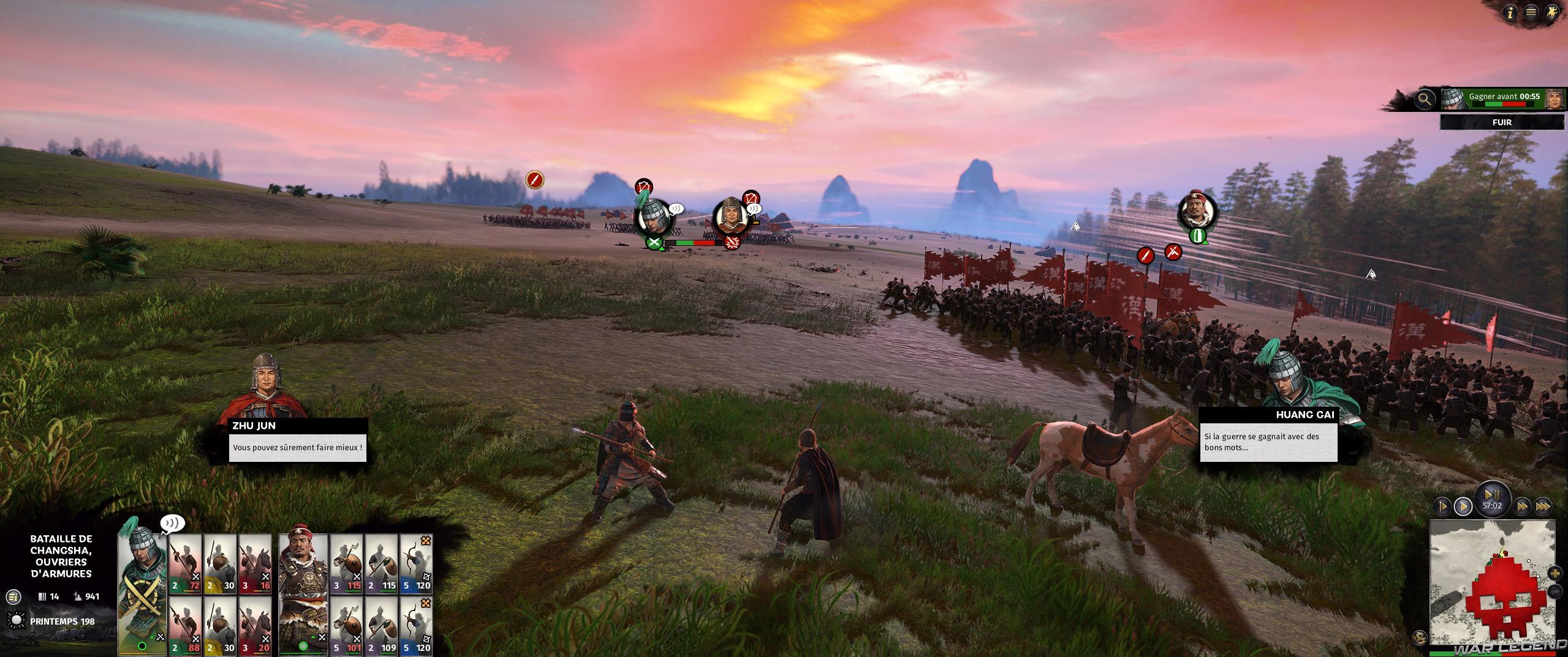 Test Total War Three Kingdoms Duel