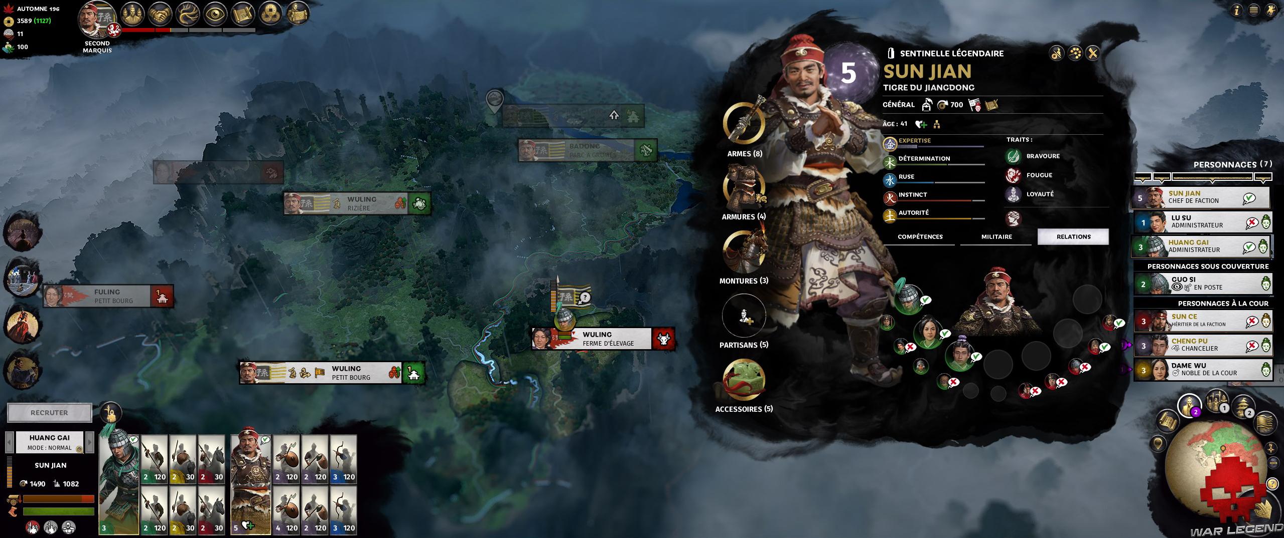 Test Total War Three Kingdoms 5