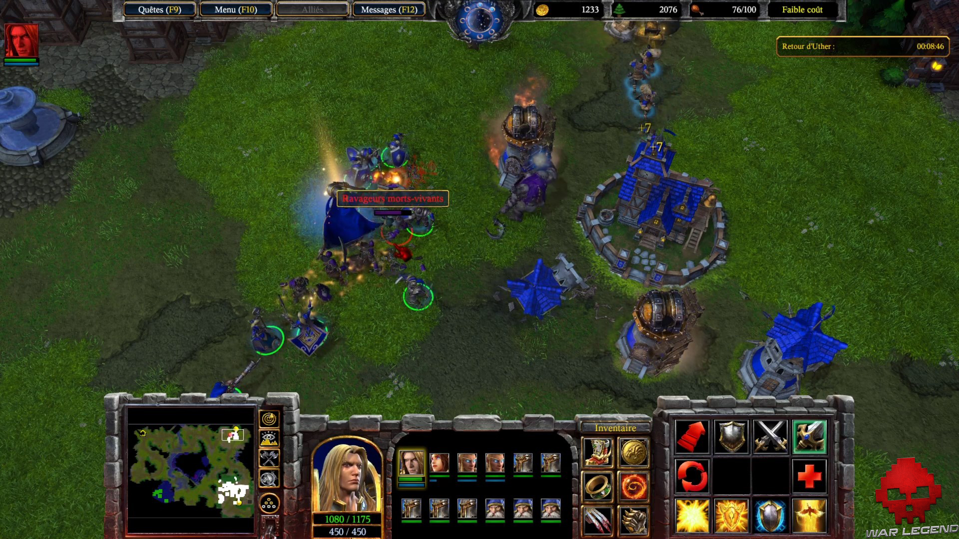 Test Warcraft III Reforged - Ville humaine