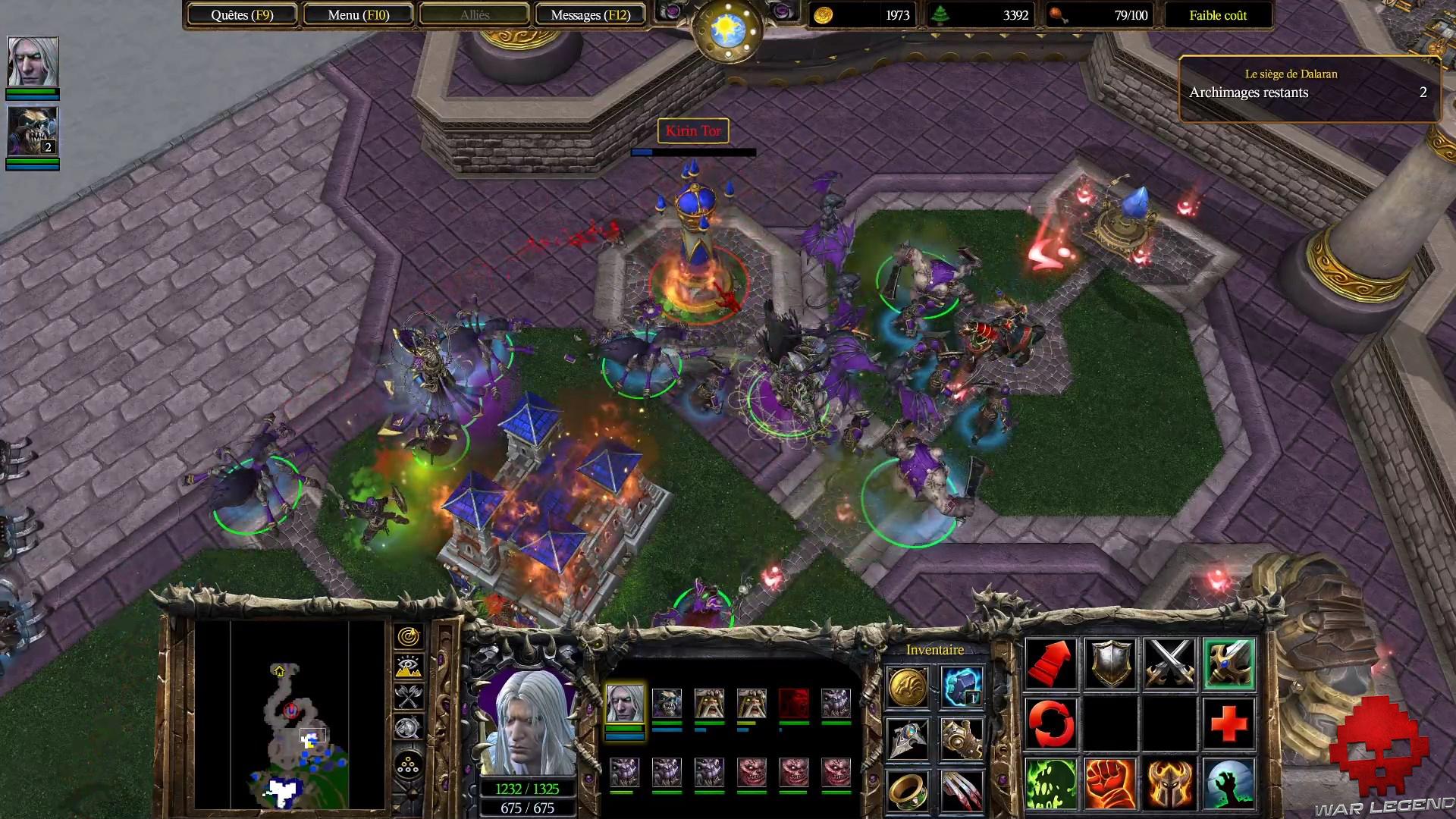 Test Warcraft III Reforged - La chute de Lune d'Argent