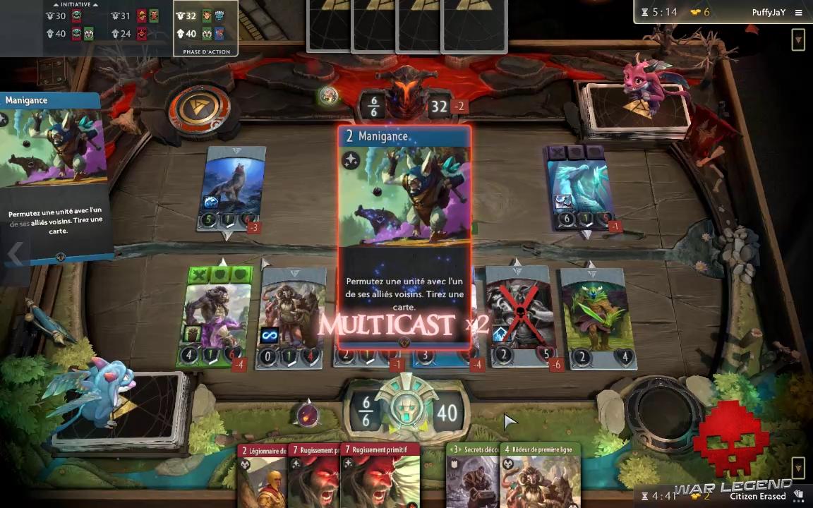 test Artifact Ogre-Magi active un multicast