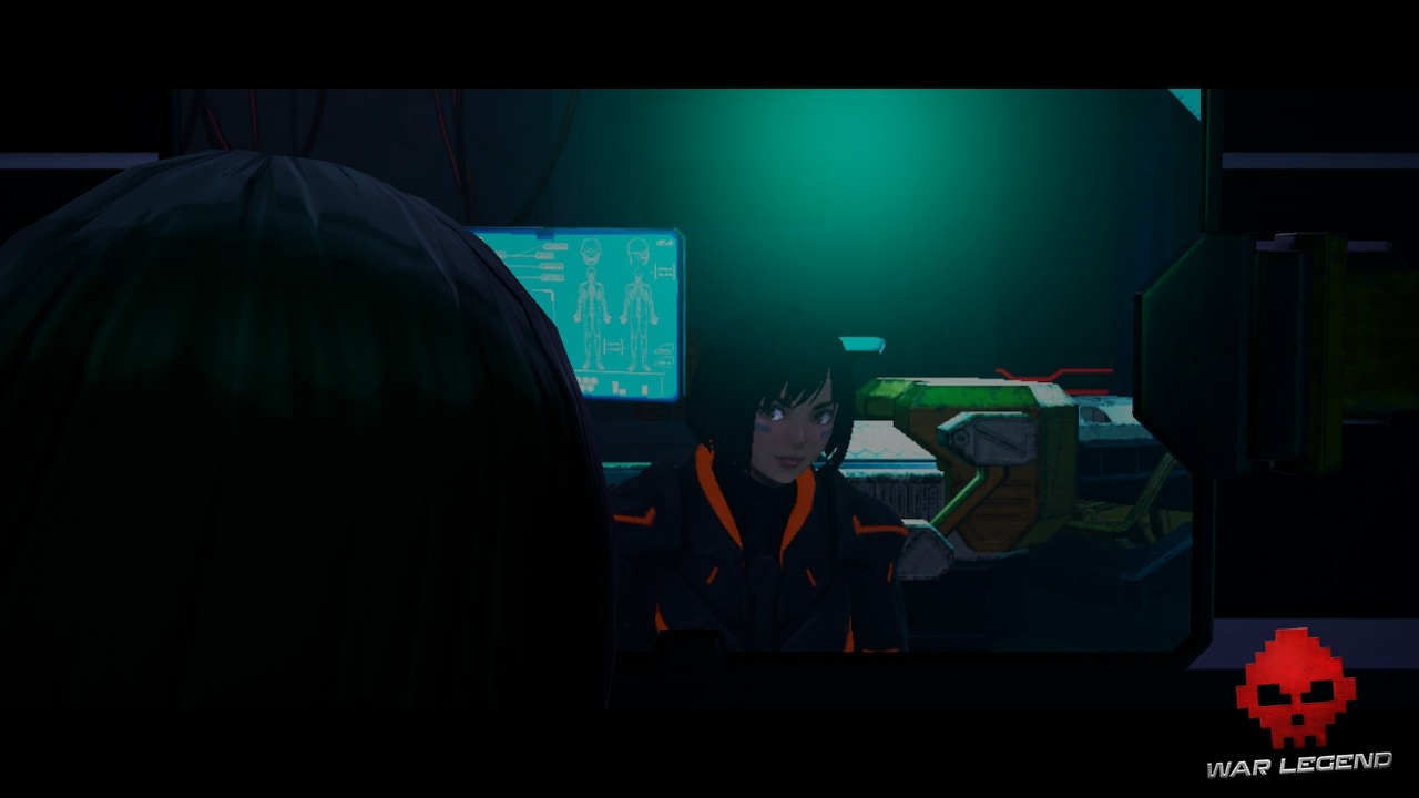 Test Daemon X Machina - Intro personnage joueur