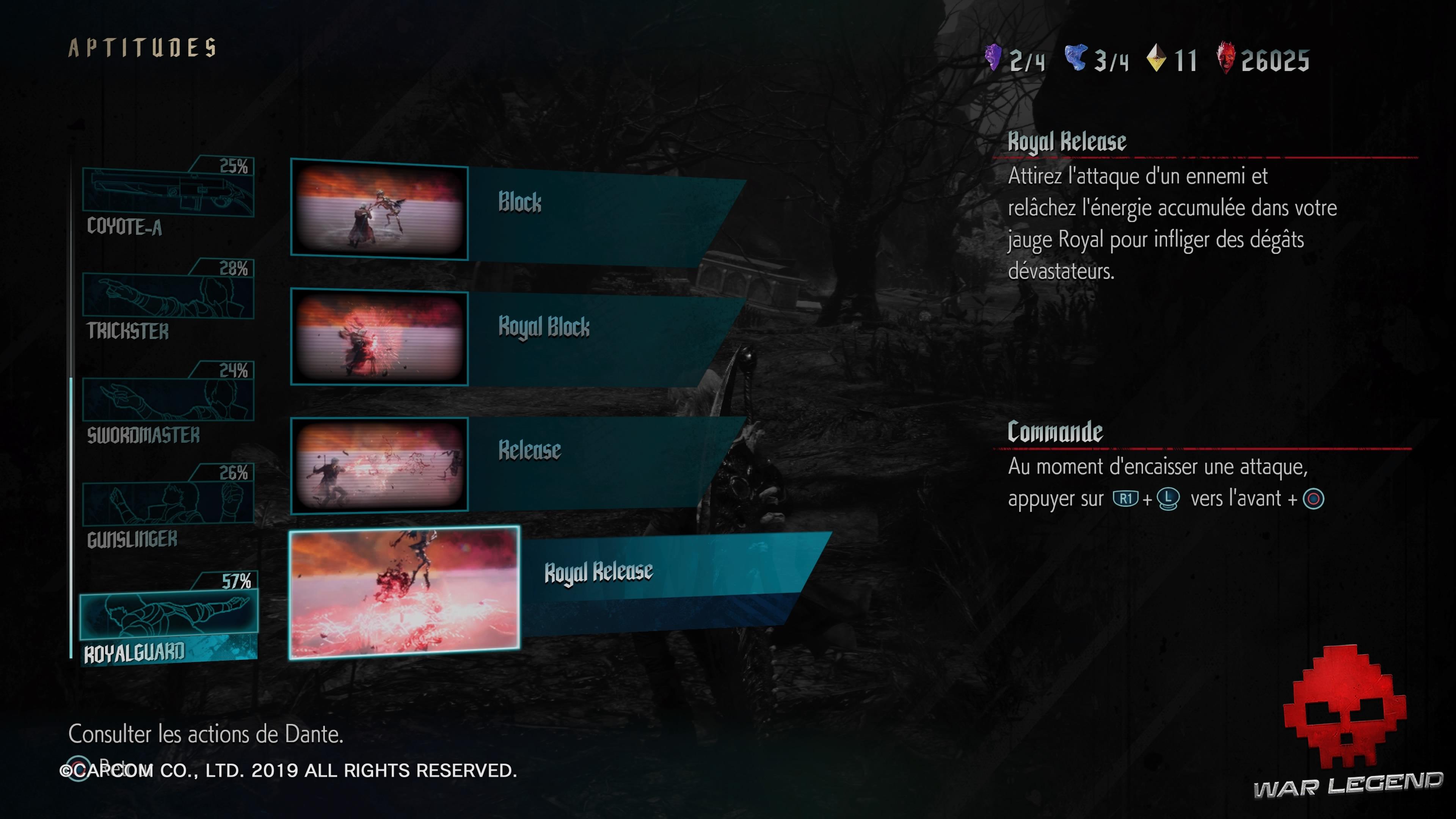 Test Devil May Cry 5 - Les différents styles de Dante