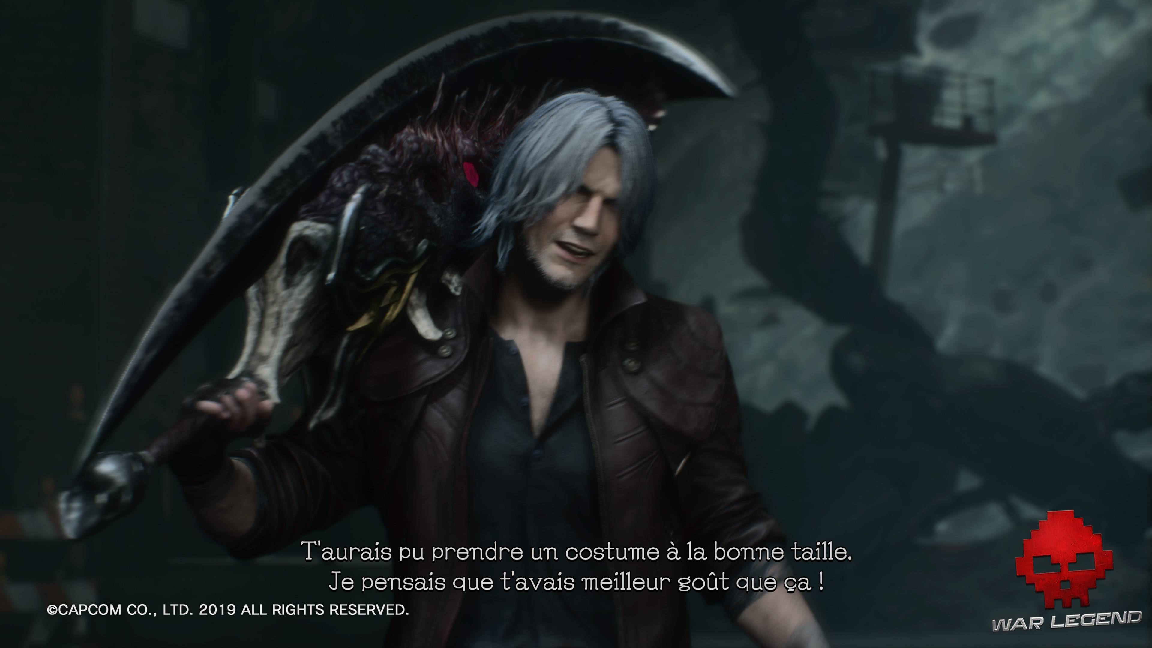 Test Devil May Cry 5 - Dante se moque de son ennemi