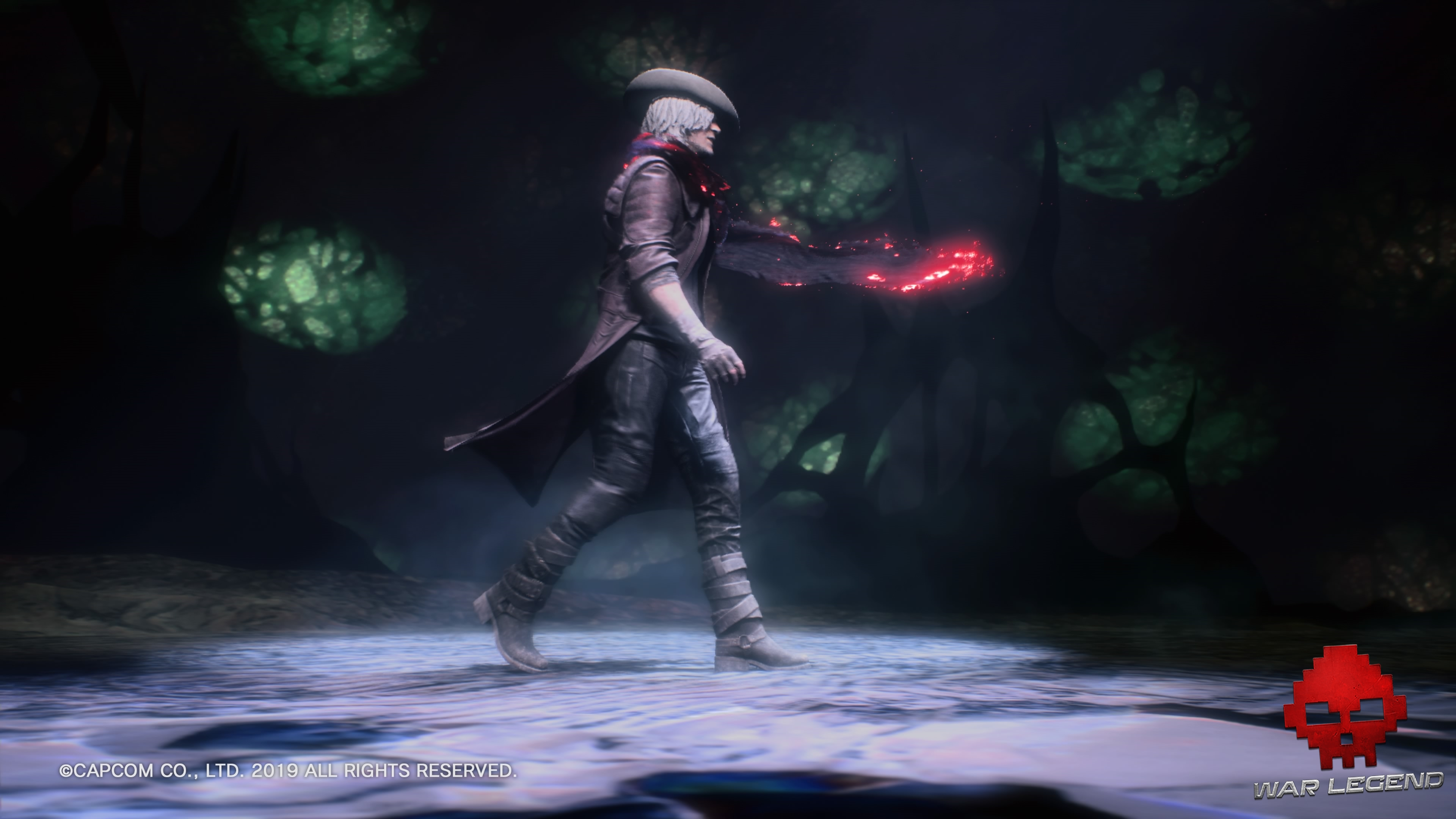 Test Devil May Cry 5 - Dante dance comme Mickael Jackson