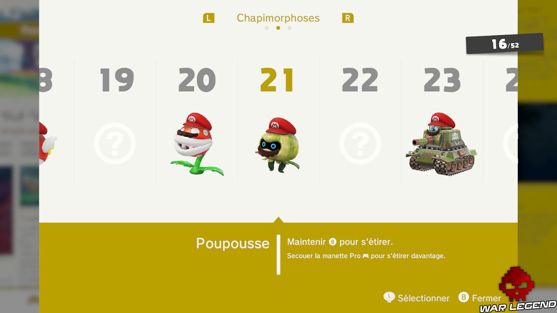 Test Super Mario Odyssey