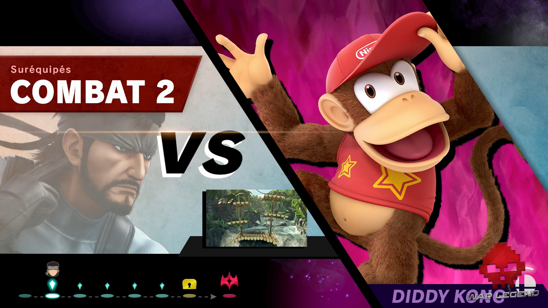 Test Super Smash Bros. Ultimate progression du mode Classique
