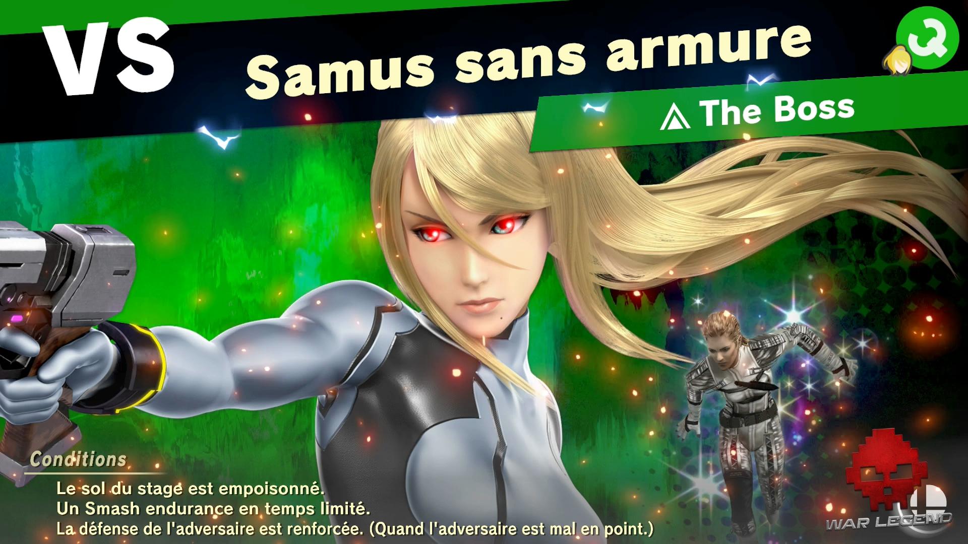 Test Super Smash Bros. Ultimate Combat contre l'Esprit de The Boss