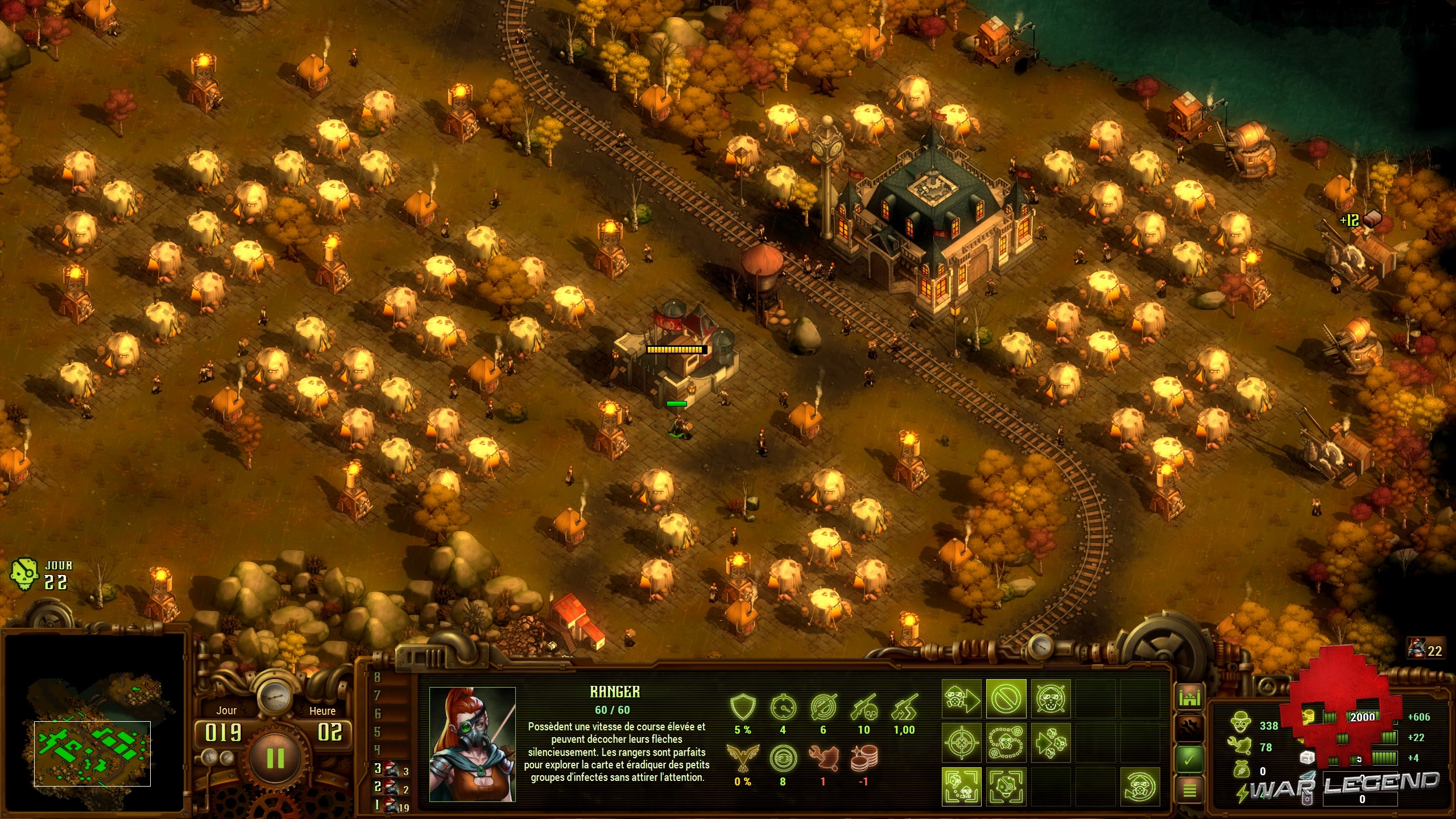 Test They Are Billions - Une colonie basique