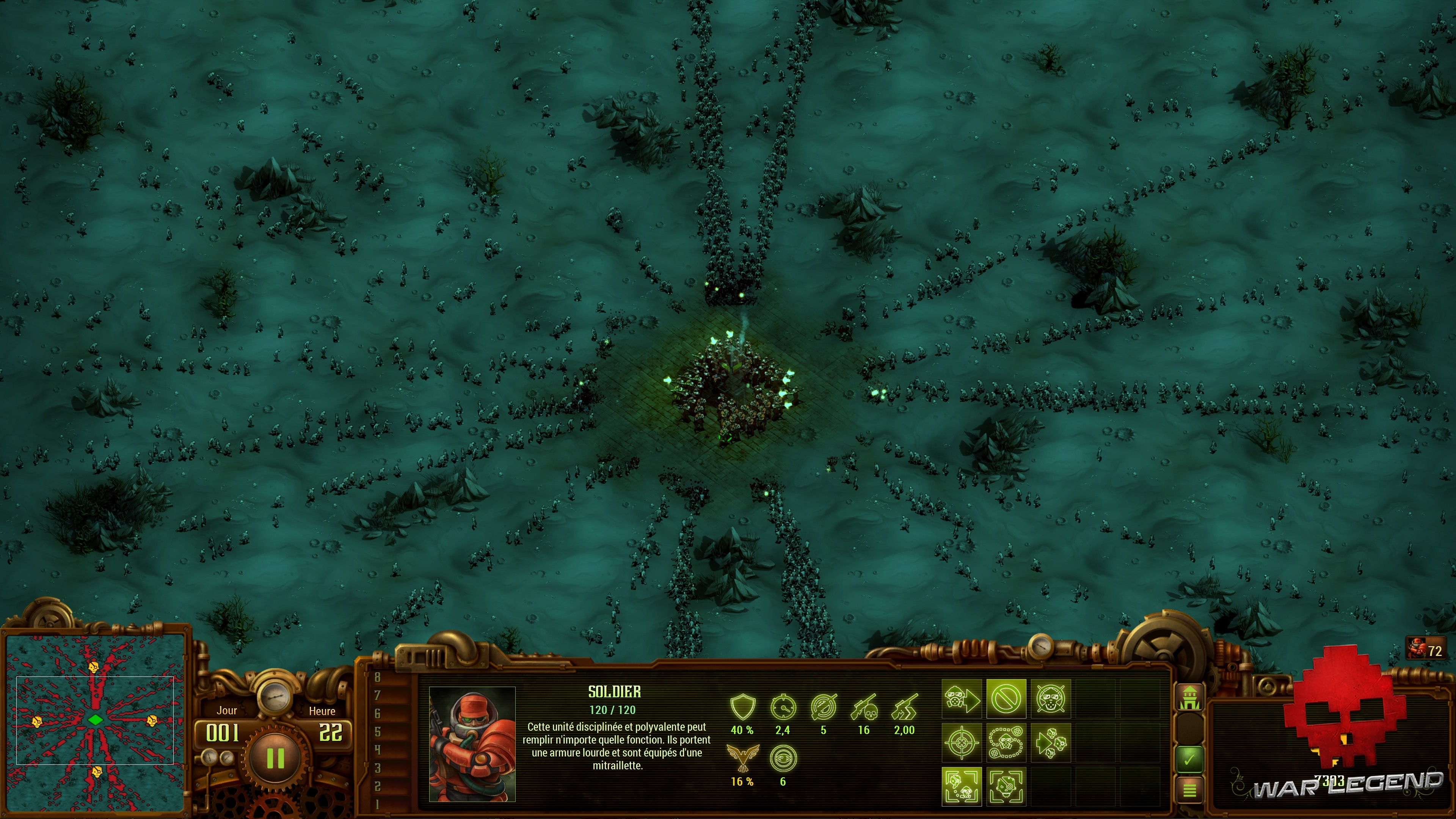 Test They Are Billions - Mission d'attaque