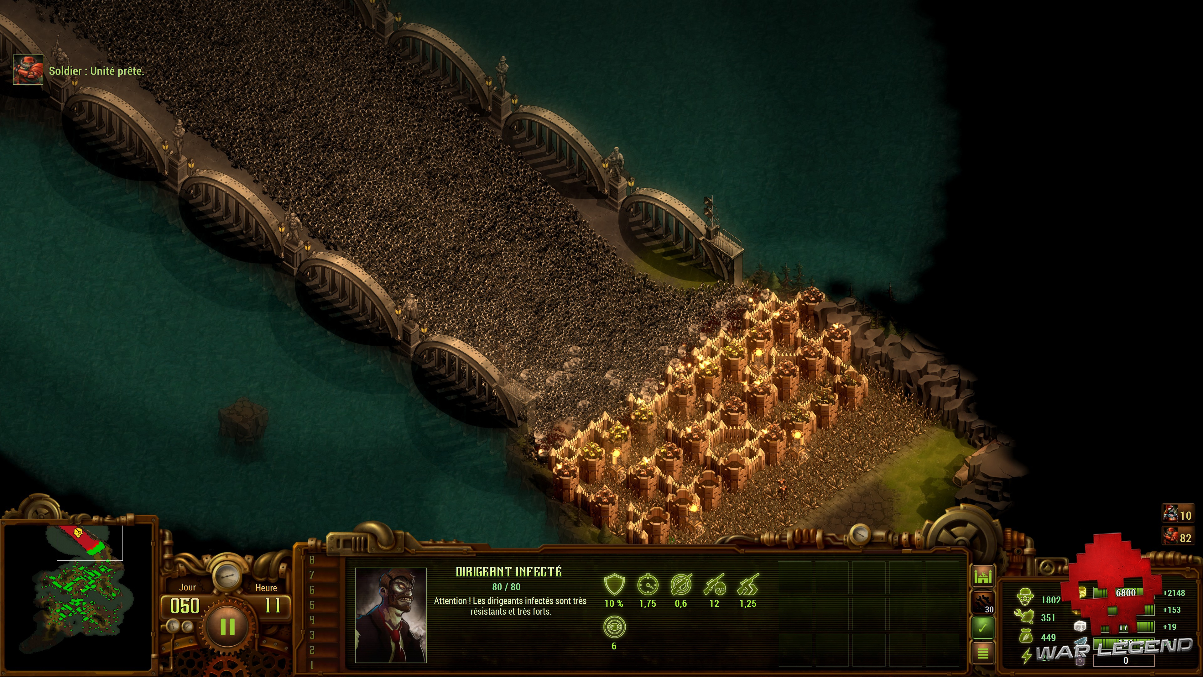 Test They Are Billions - Une très grosse attaque de zombies