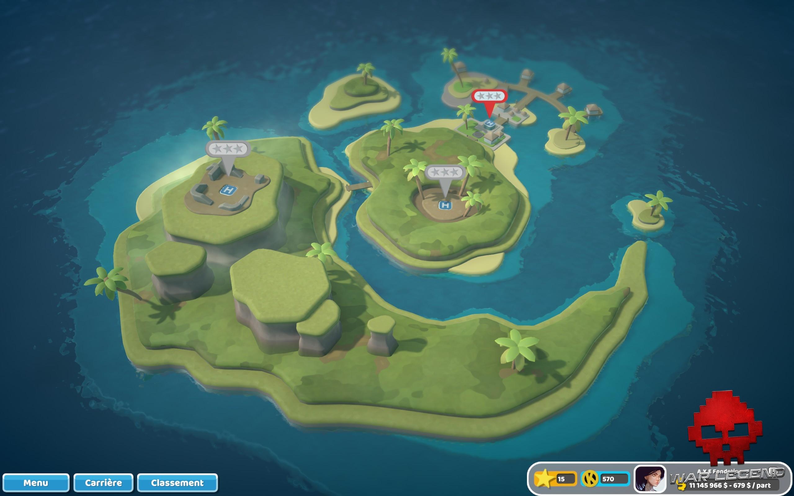 Test Two Point Hospital: Pebberley Island - Pebberley Island