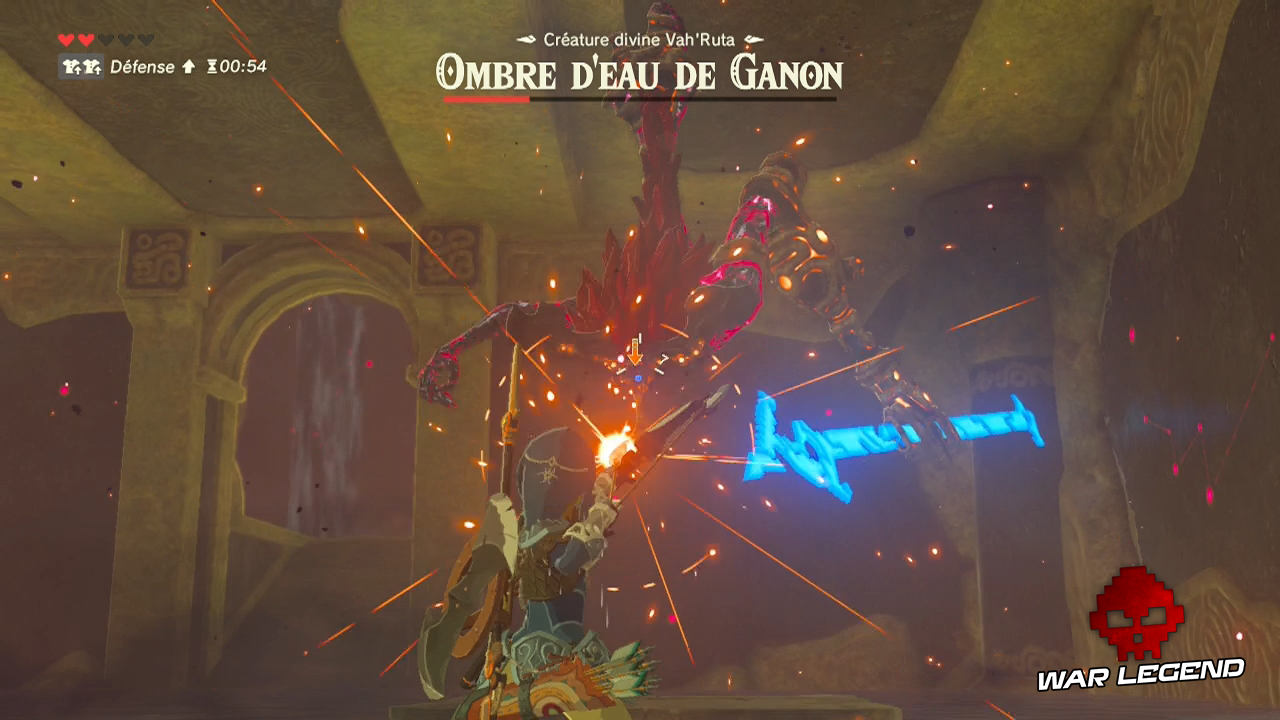 Test The Legend of Zelda: Breath of the Wild - Quand la modernité transcende la tradition ombre d'eau de Ganon