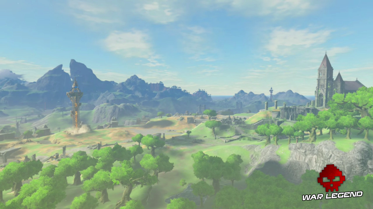Test The Legend of Zelda: Breath of the Wild - Quand la modernité transcende la tradition paysage Hyrule