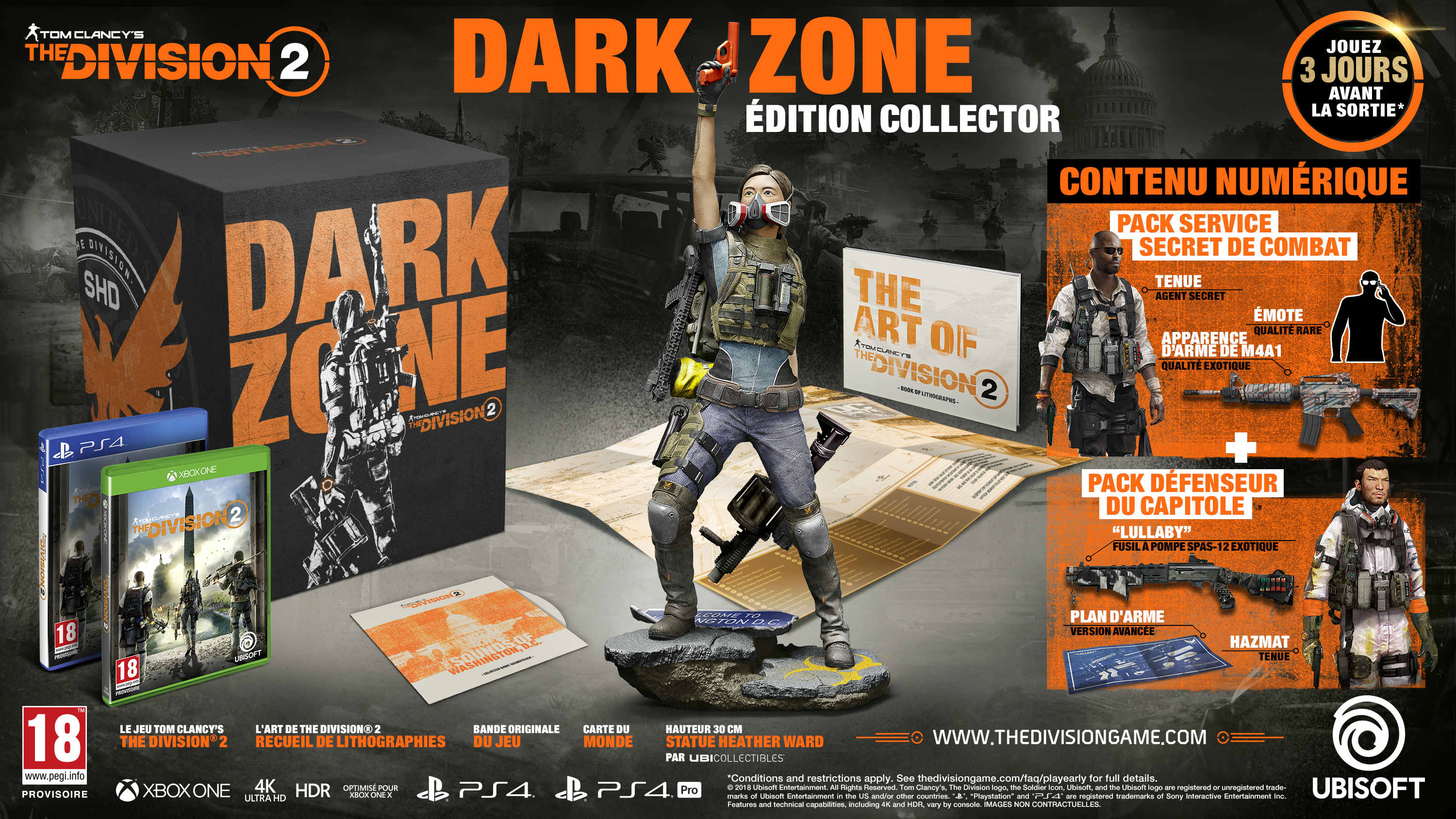 The Division 2 Collector Dark Zone