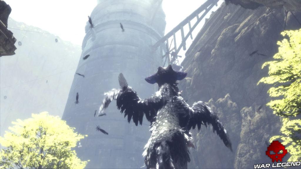 Test The Last Guardian Trico tente de voler