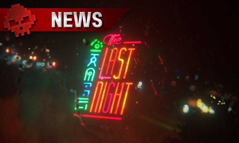 The Last Night - Le monde futuriste en pixels se dévoile - Logo