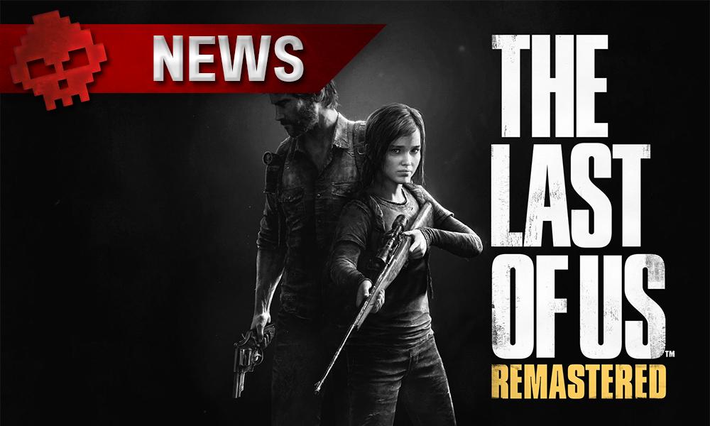 The Last of Us Remastered - Le nouveau patch ne plaira pas à tous Joel et Ellie à côté du logo du jeu