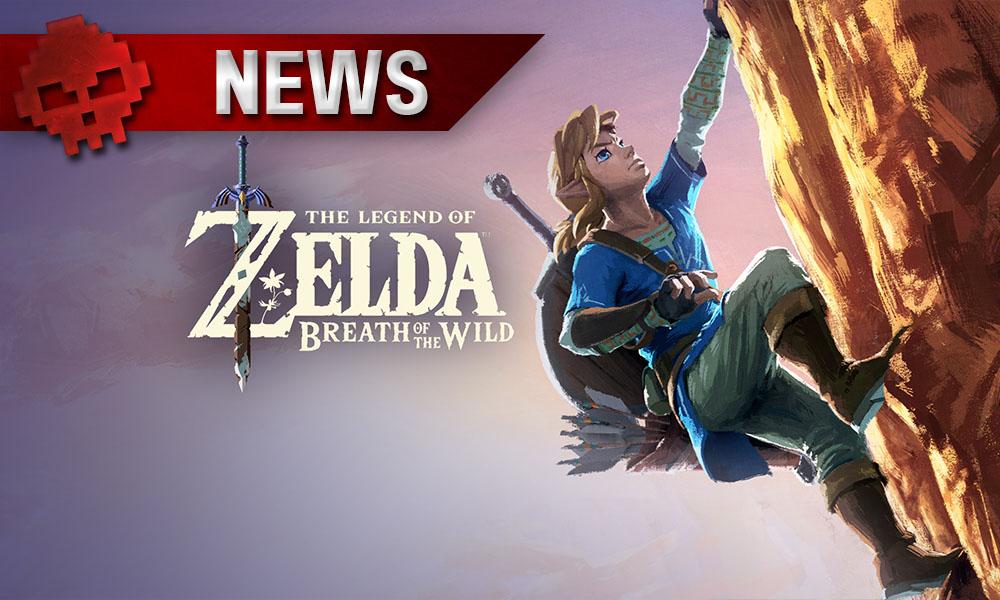 The Legend of Zelda: Breath of the Wild - Plusieurs fins dans le jeu Link escaladant une montagne
