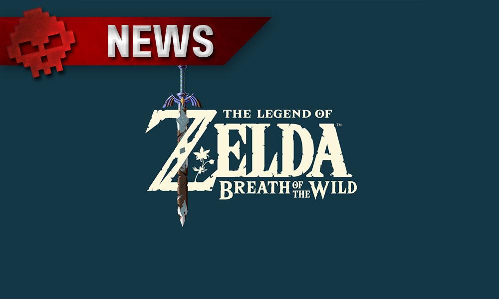 The Legend of Zelda: Breath of the Wild - Le jeu charge plus vite sur le stockage interne Logo