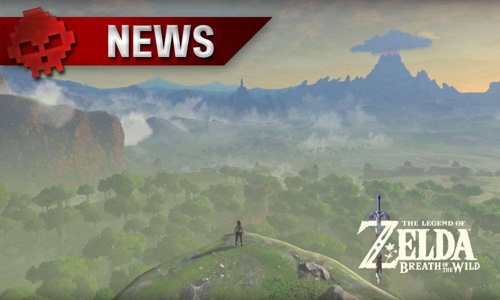 The Legend of Zelda: Breath of the Wild - Le producteur évoque un Link féminin pour le futur Link admirant le paysage vert face à lui